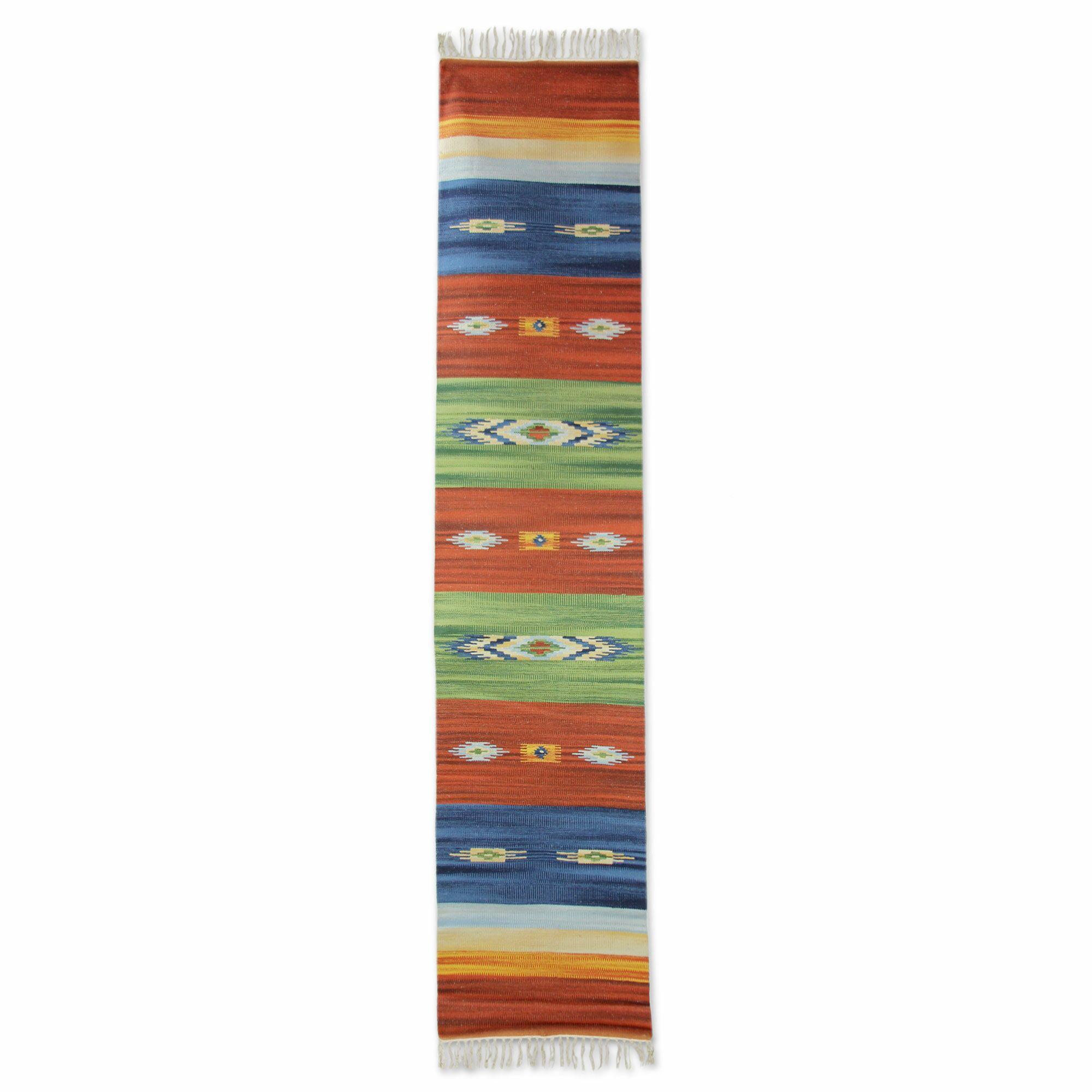 Sonik Sethi Hand-Woven Area Rug Rug Size: 3'3