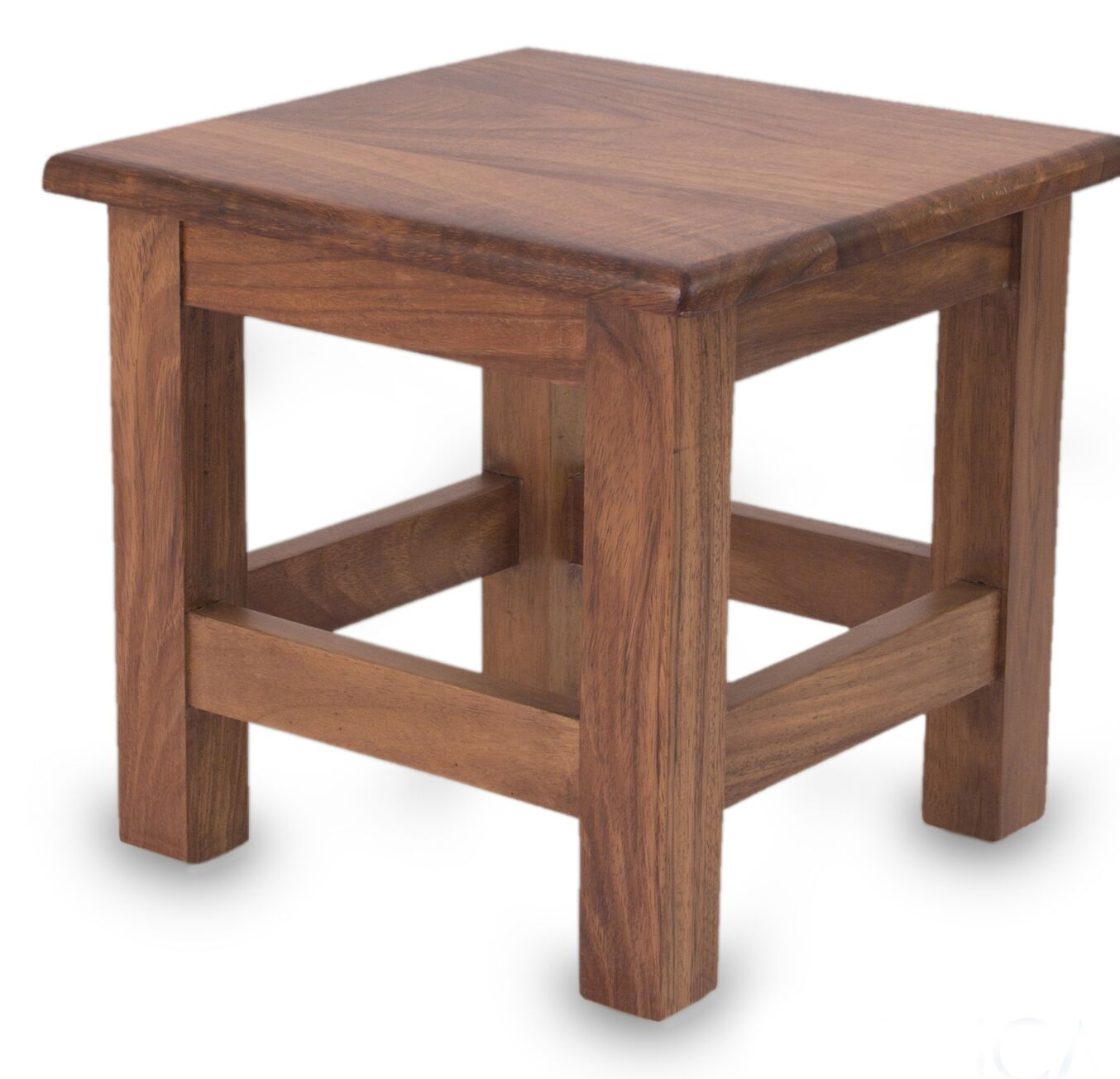 San Pedrito Mission Parota Wood End Table