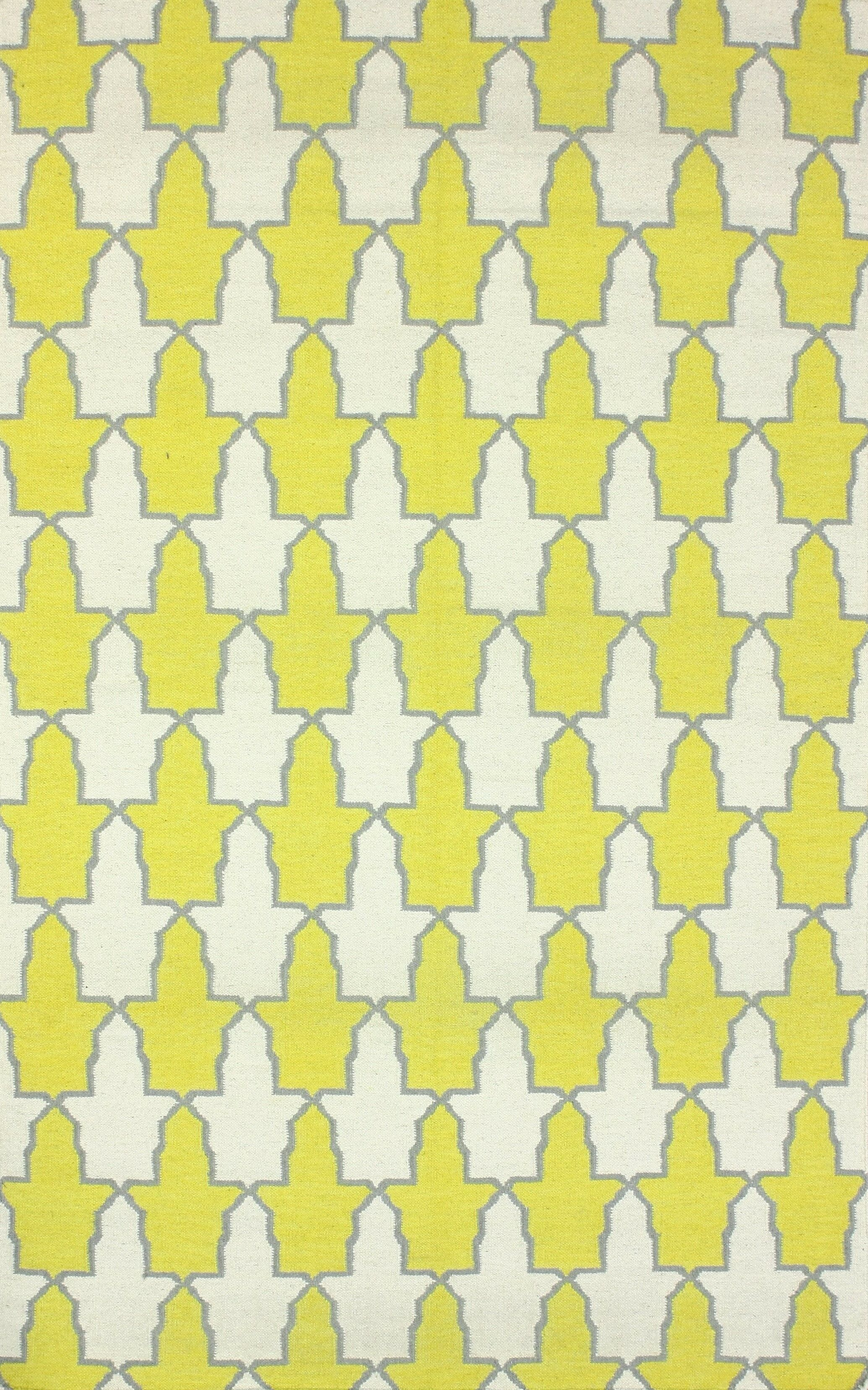 Remade Yellow Trina Rug Rug Size: Rectangle 7'6
