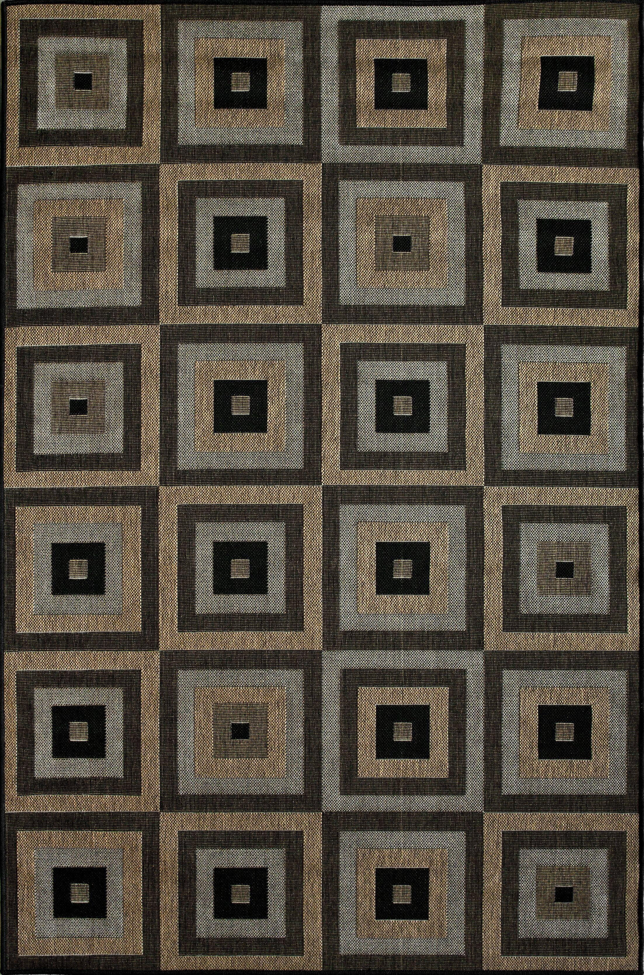 Brogan Brown Indoor/Outdoor Area Rug Rug Size: Rectangle 9'11