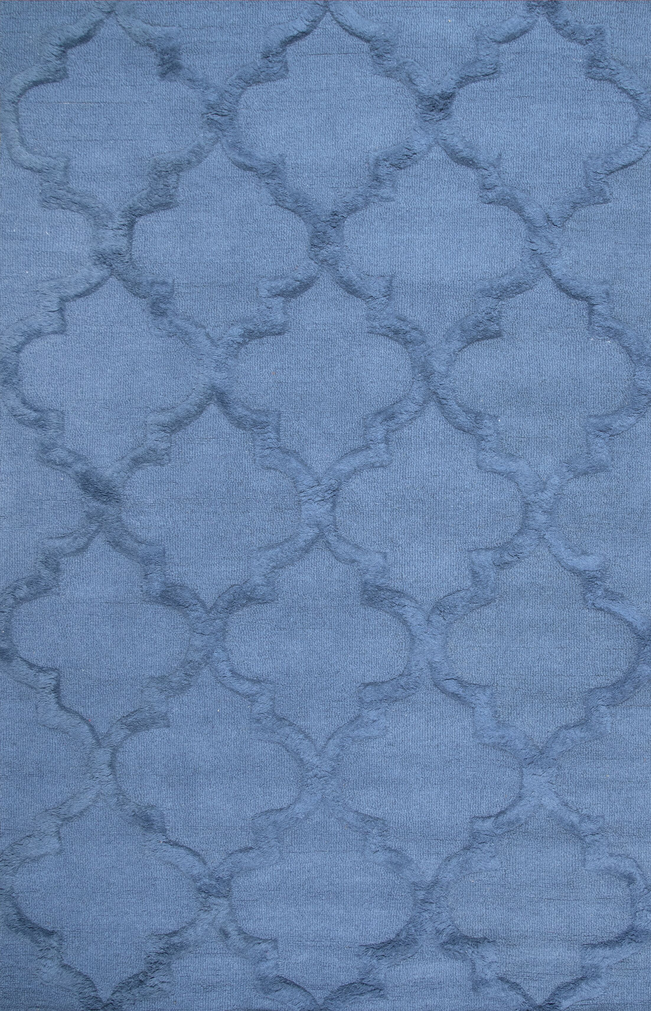 Koshney Hand-Tufted Denim Area Rug Rug Size: Rectangle 5' x 8'