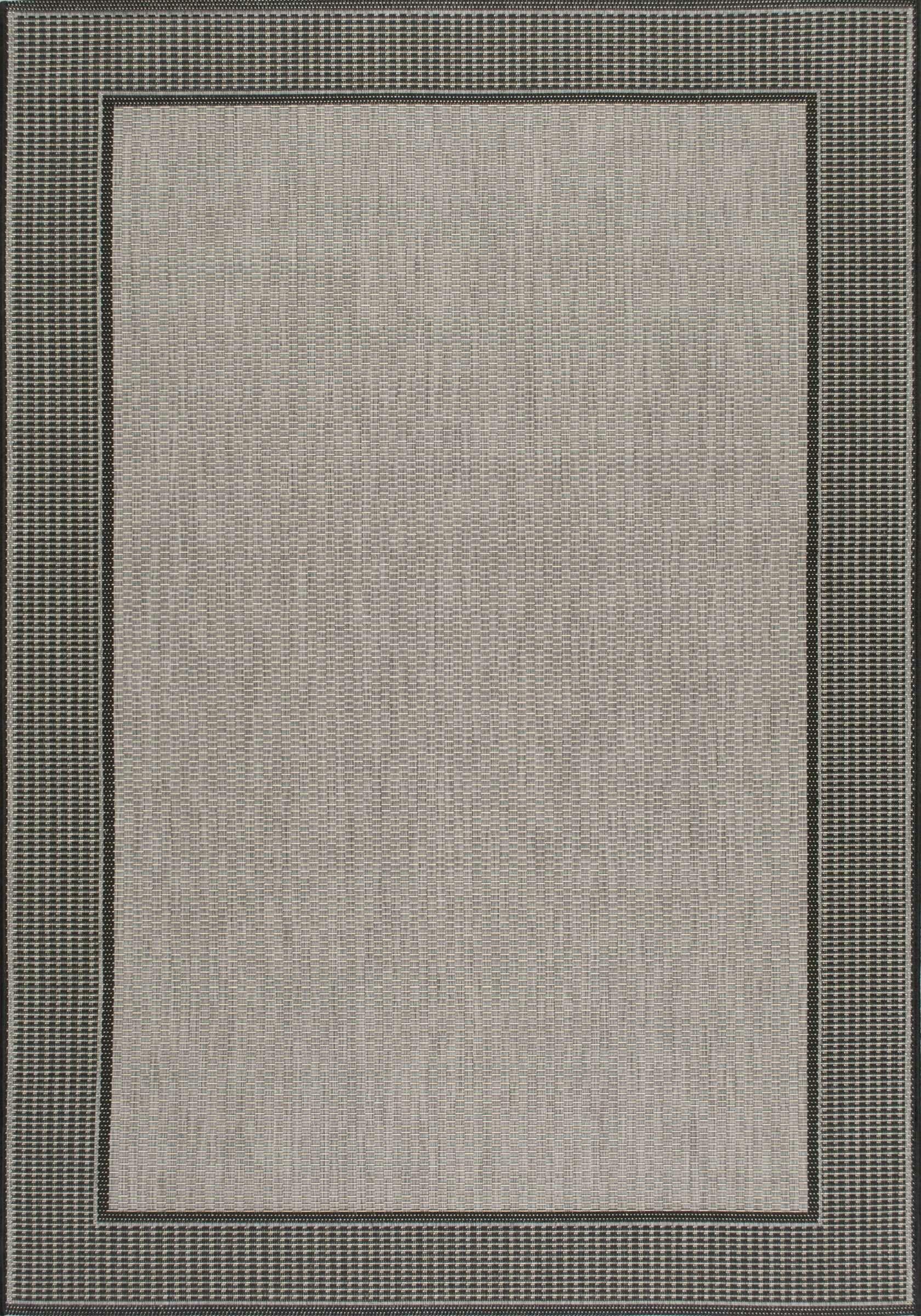 Mcelfresh Gray Indoor/Outdoor Rug Rug Size: Rectangle 8'6