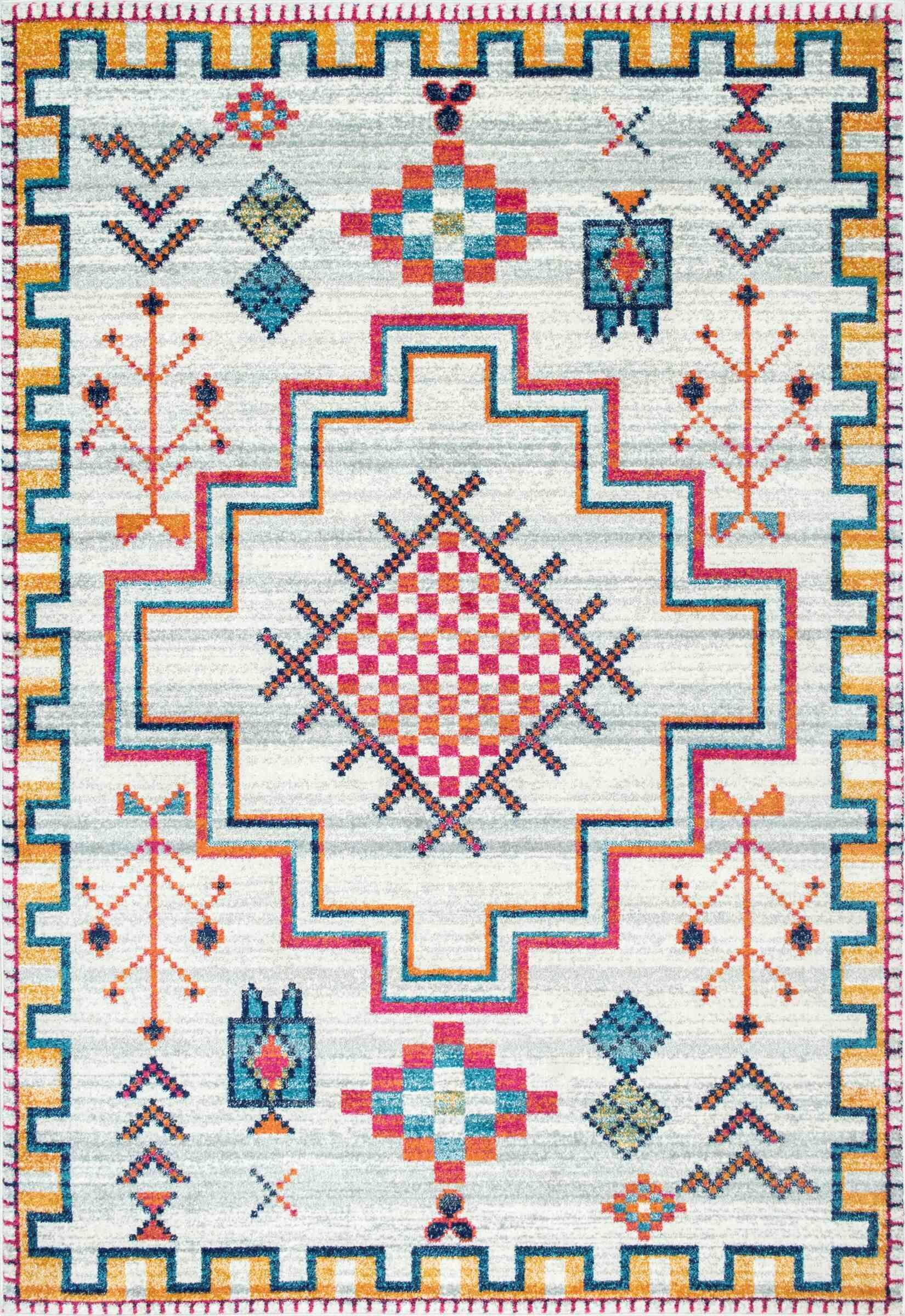 Celestine Silver Area Rug Rug Size: Rectangle 4' x 6'