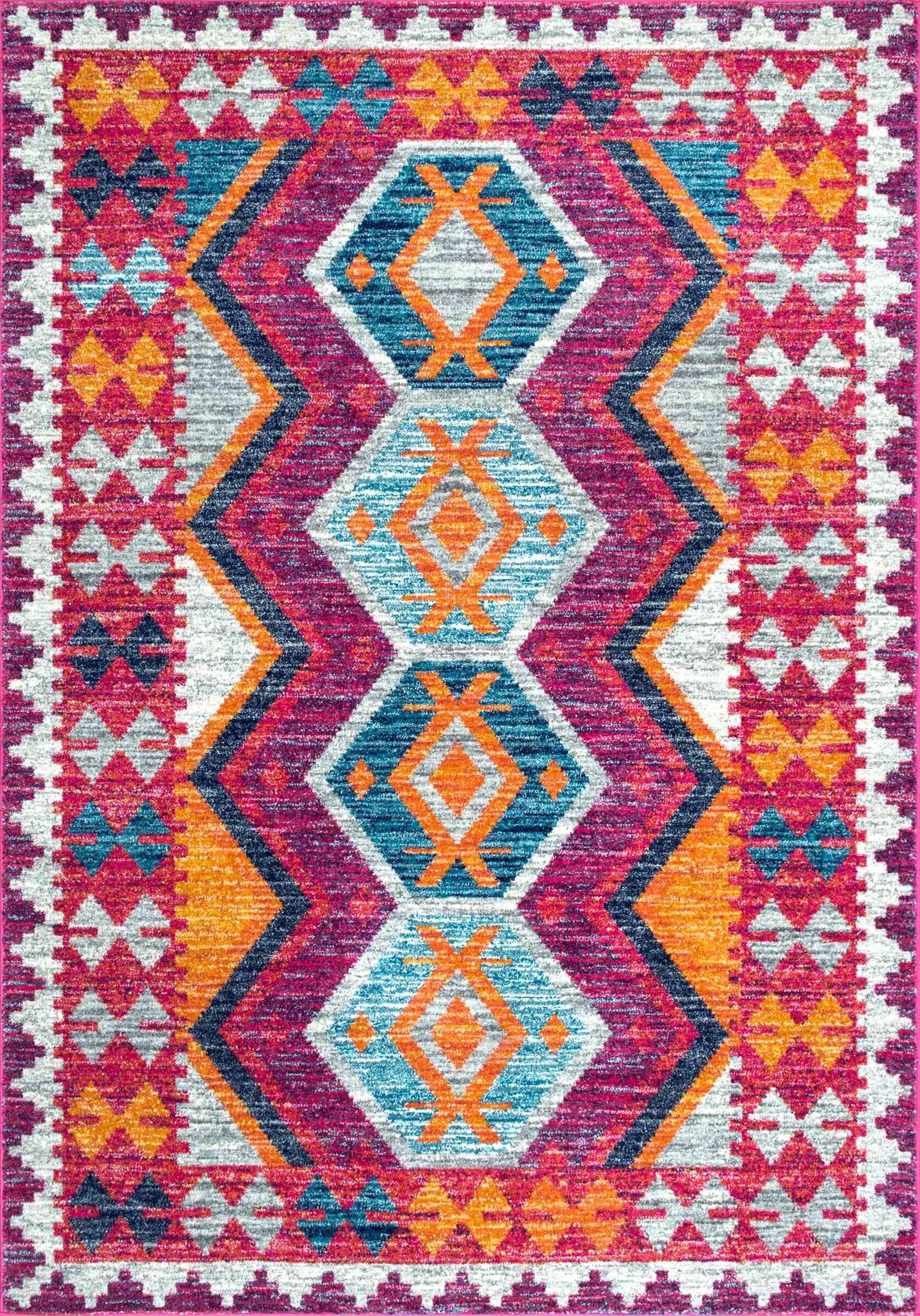 Celie Pink Area Rug Rug Size: Rectangle 5' x 7'5
