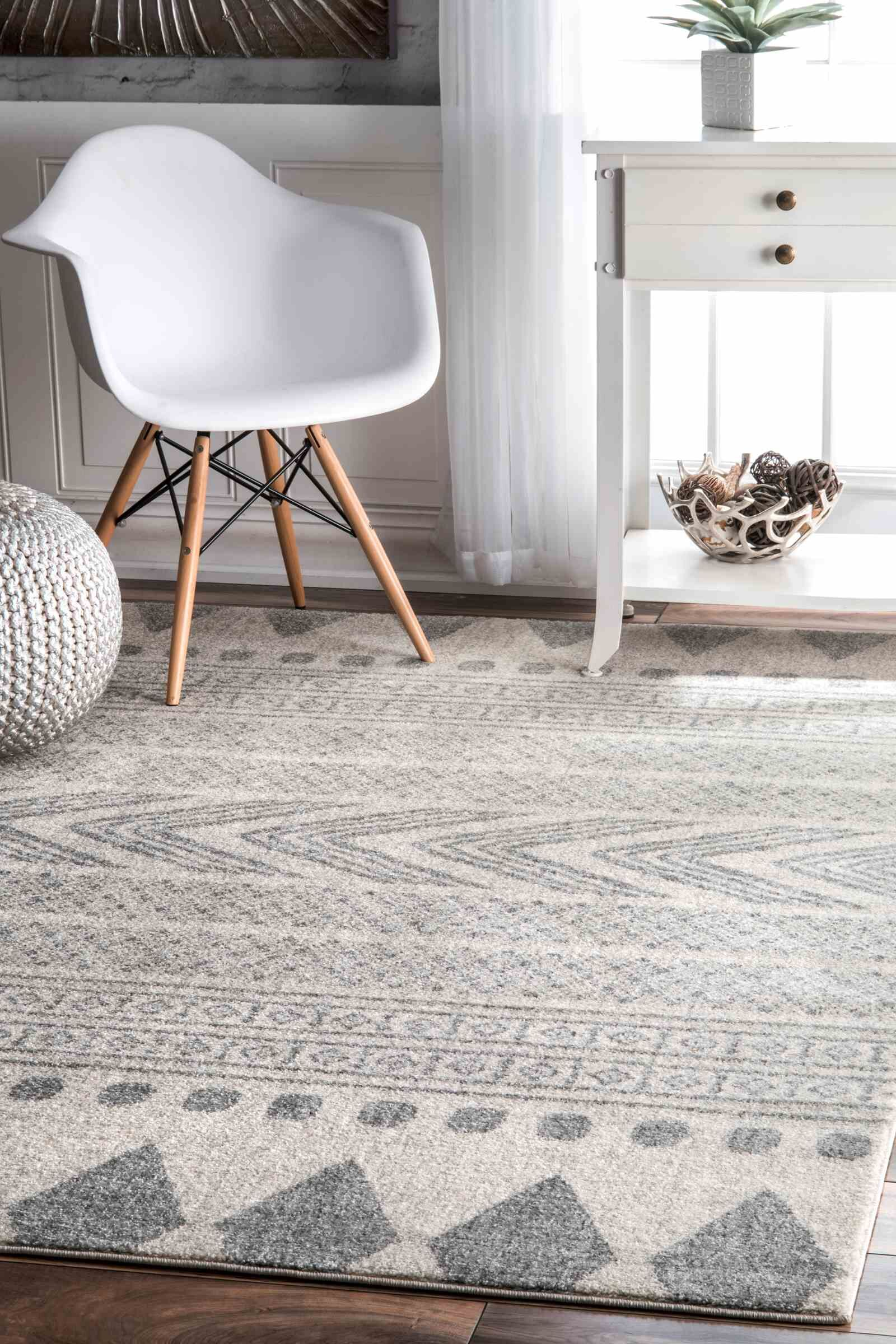 Berger Gray Area Rug Rug Size: Rectangle 6' 7