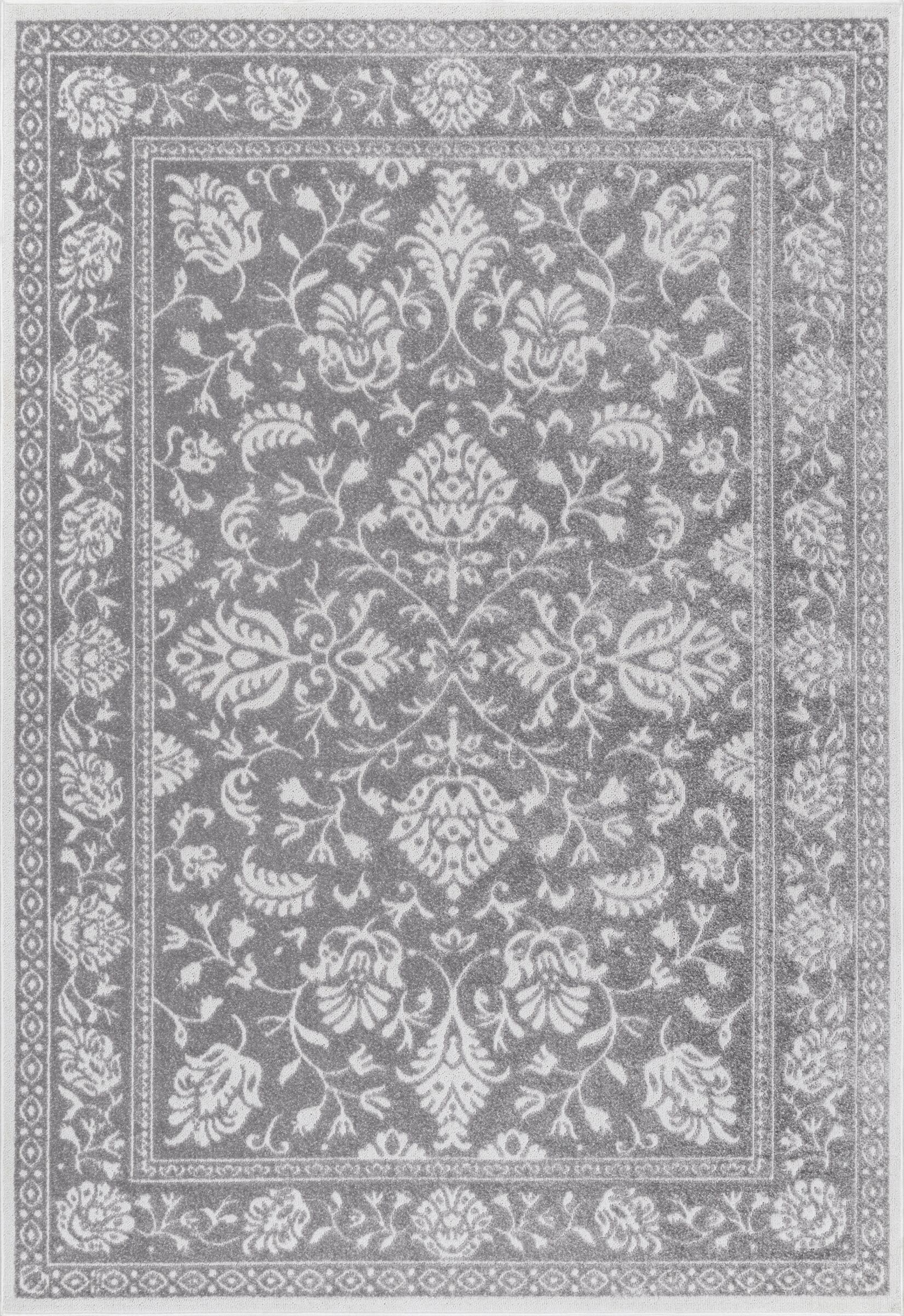 Chadbourne Dark Gray Area Rug Rug Size: Rectangle 5' x 8'