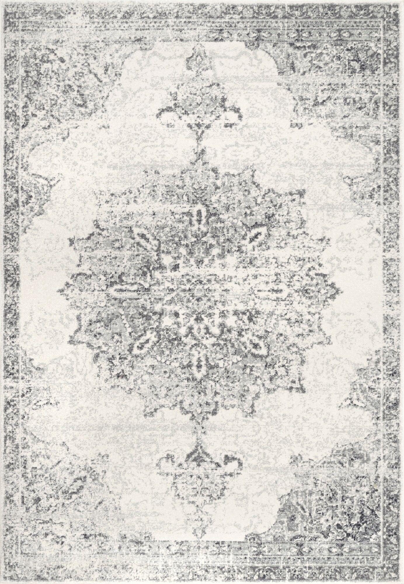 Bryanna Gray Area Rug Rug Size: Rectangle 9' x 12'