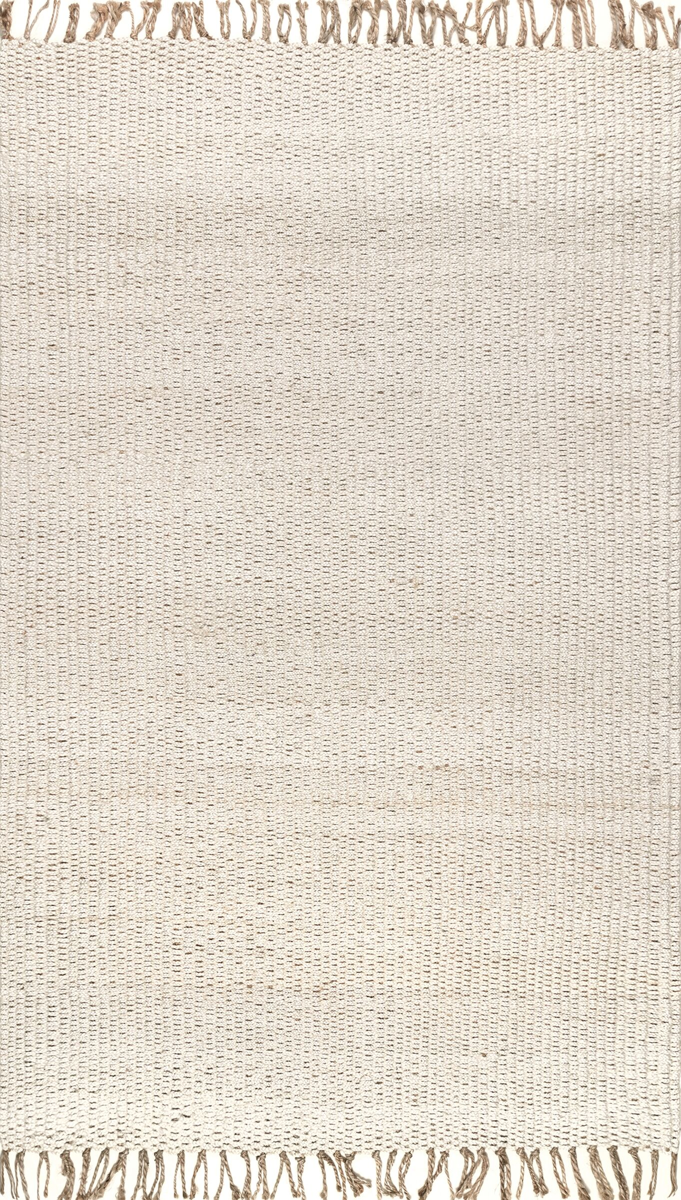 Parthenia Hand Woven Beige Area Rug Rug Size: Rectangle 5' x 8'