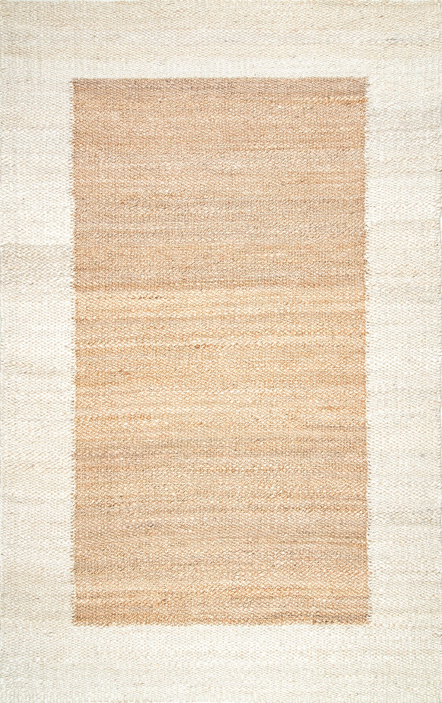 Parthenon Hand Woven Brown Area Rug Rug Size: Rectangle 5' x 8'