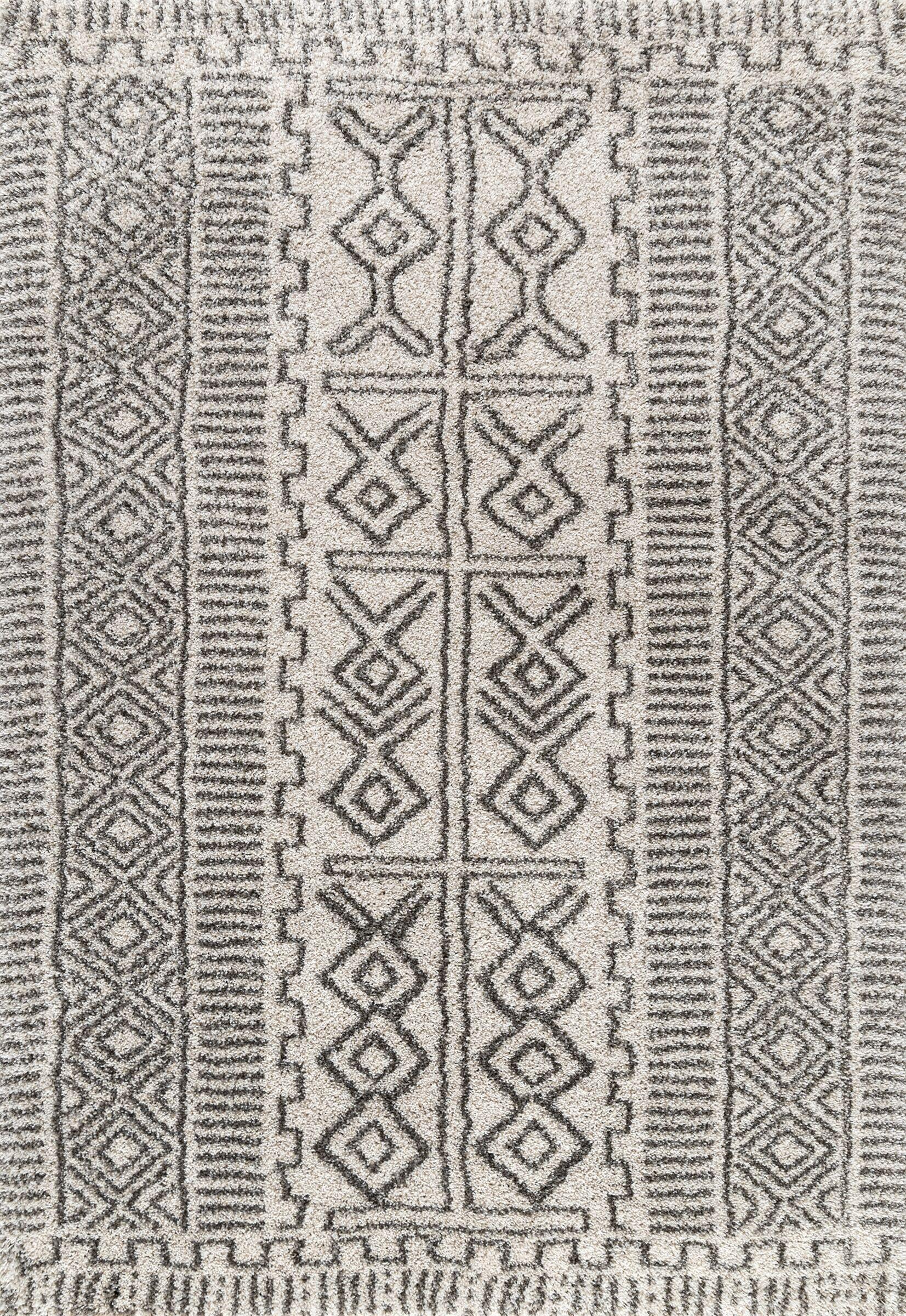 Steele Ivory Area Rug Rug Size: Rectangle 5' x 8'