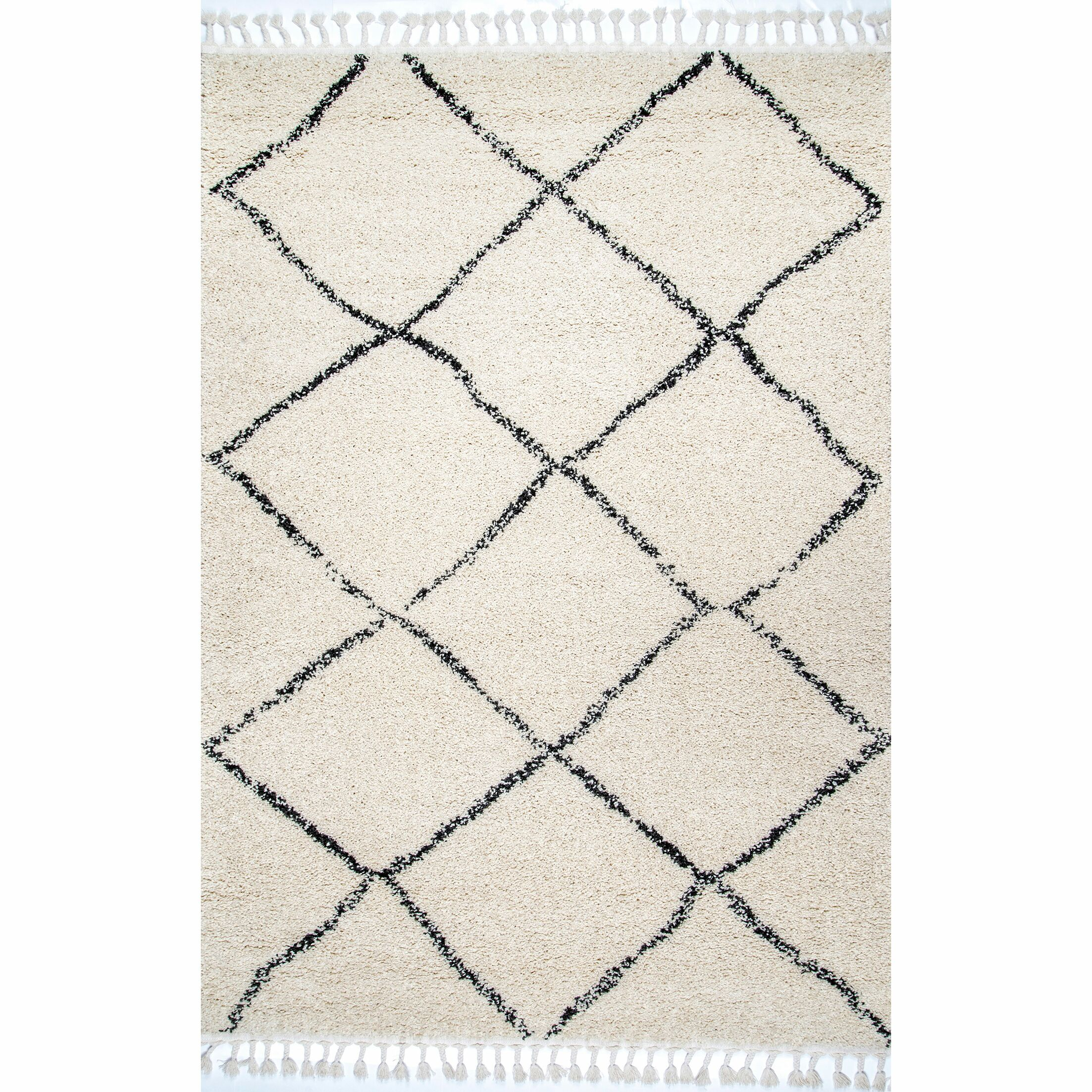 Ramey Off White Area Rug Rug Size: Rectangle 4' x 6'