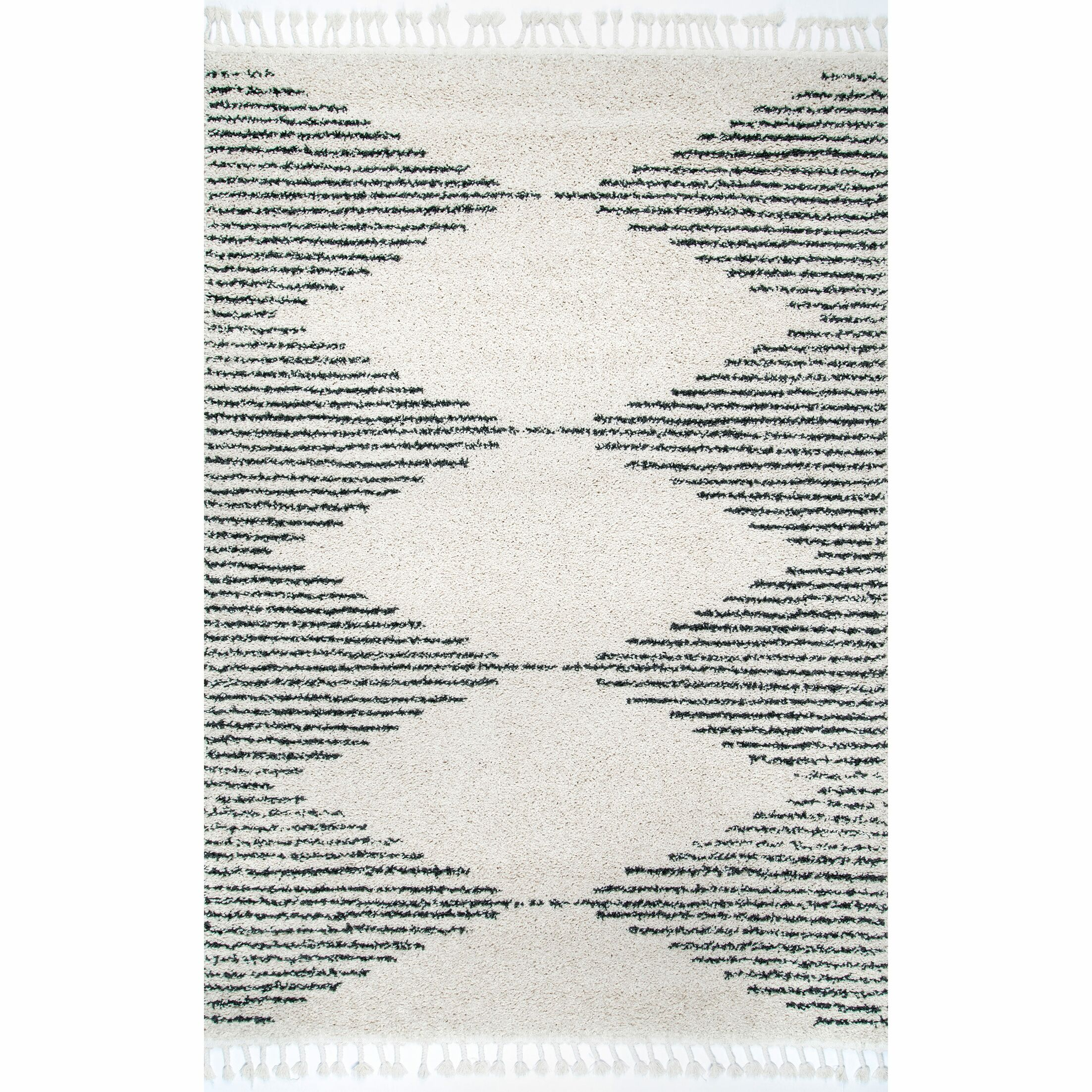 Ramsey Off White Area Rug Rug Size: Rectangle 9'2'' x 12'