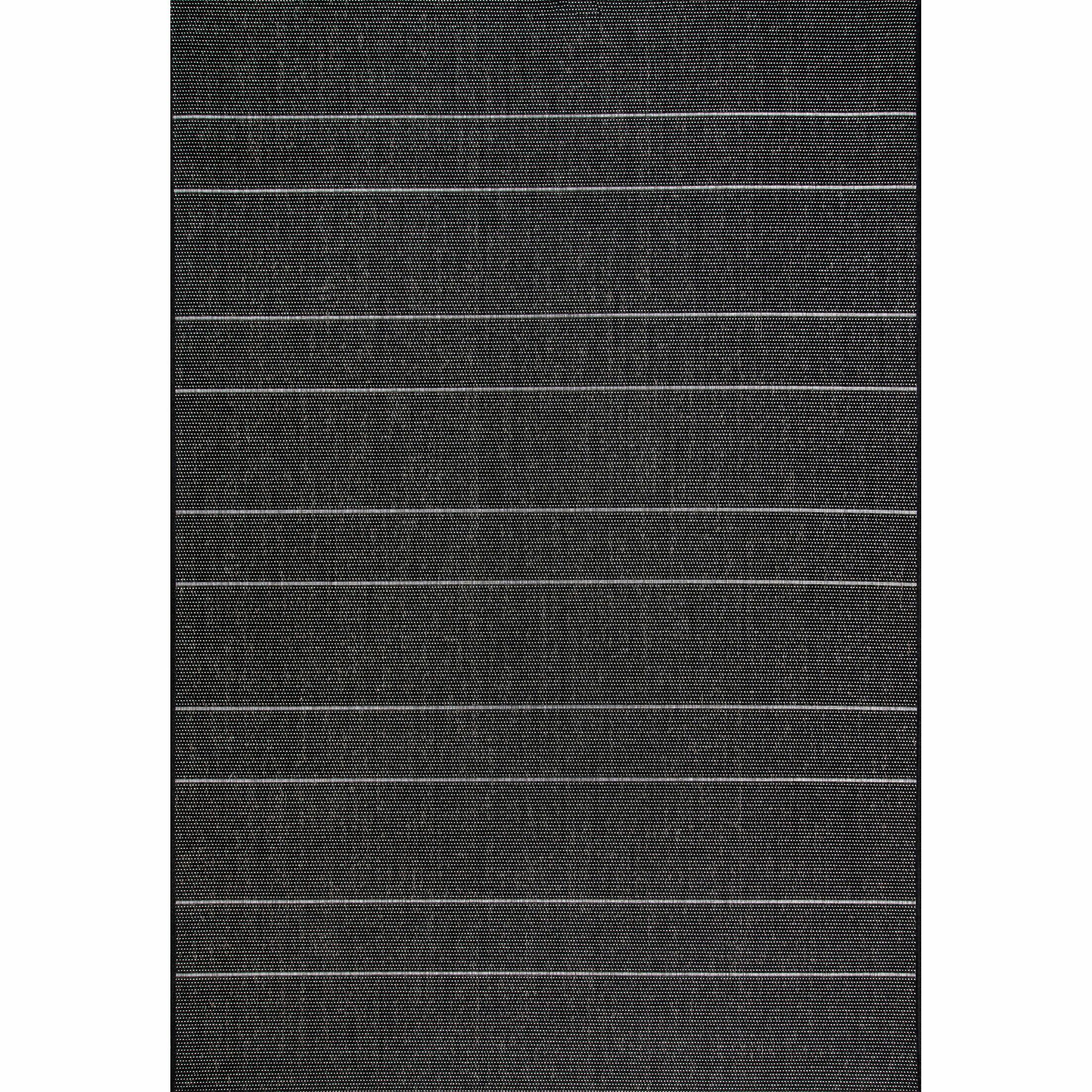 Randall Black Indoor/Outdoor Area Rug Rug Size: Rectangle 6'3'' x 9'2''