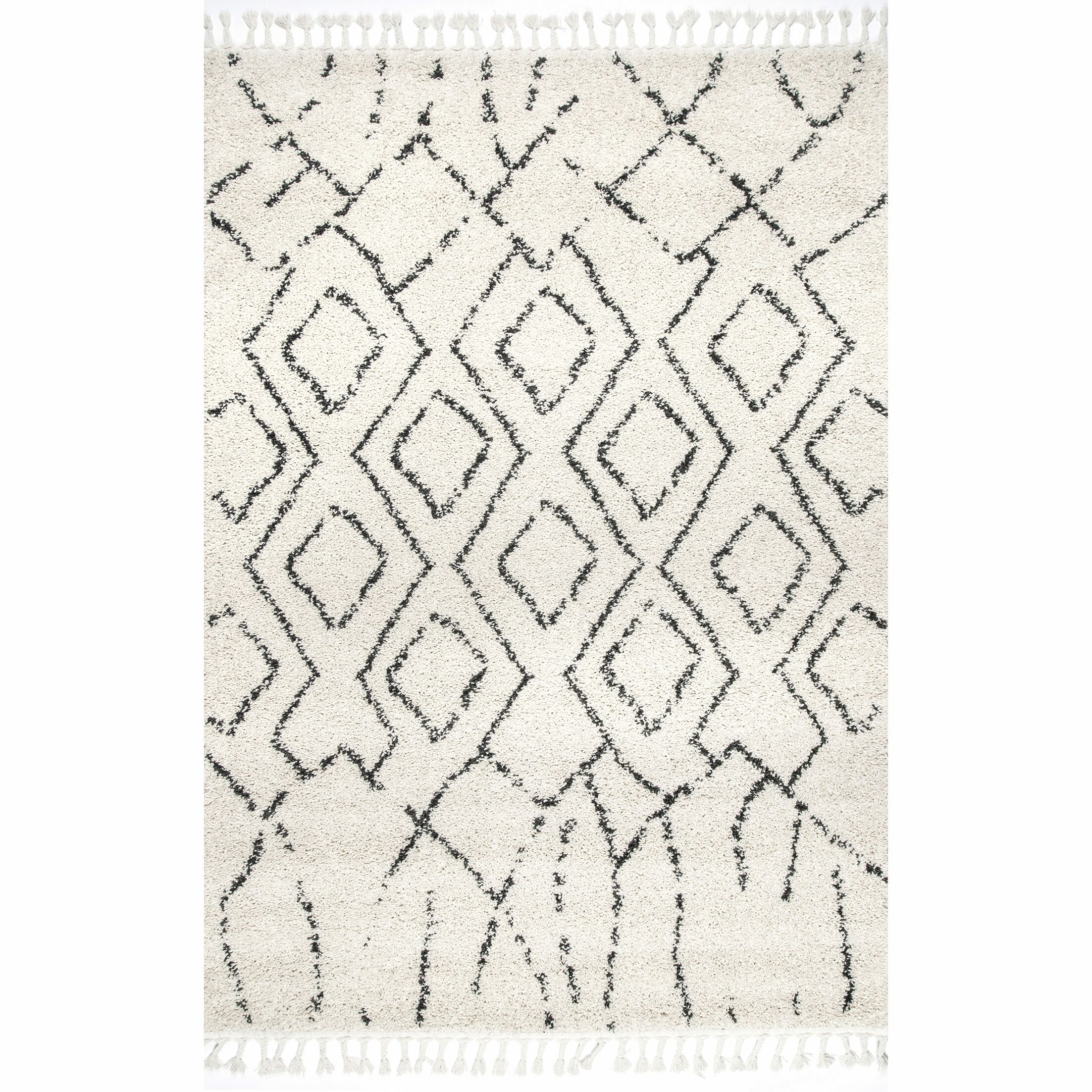 Off White Area Rug Rug Size: Rectangle 4' x 6'