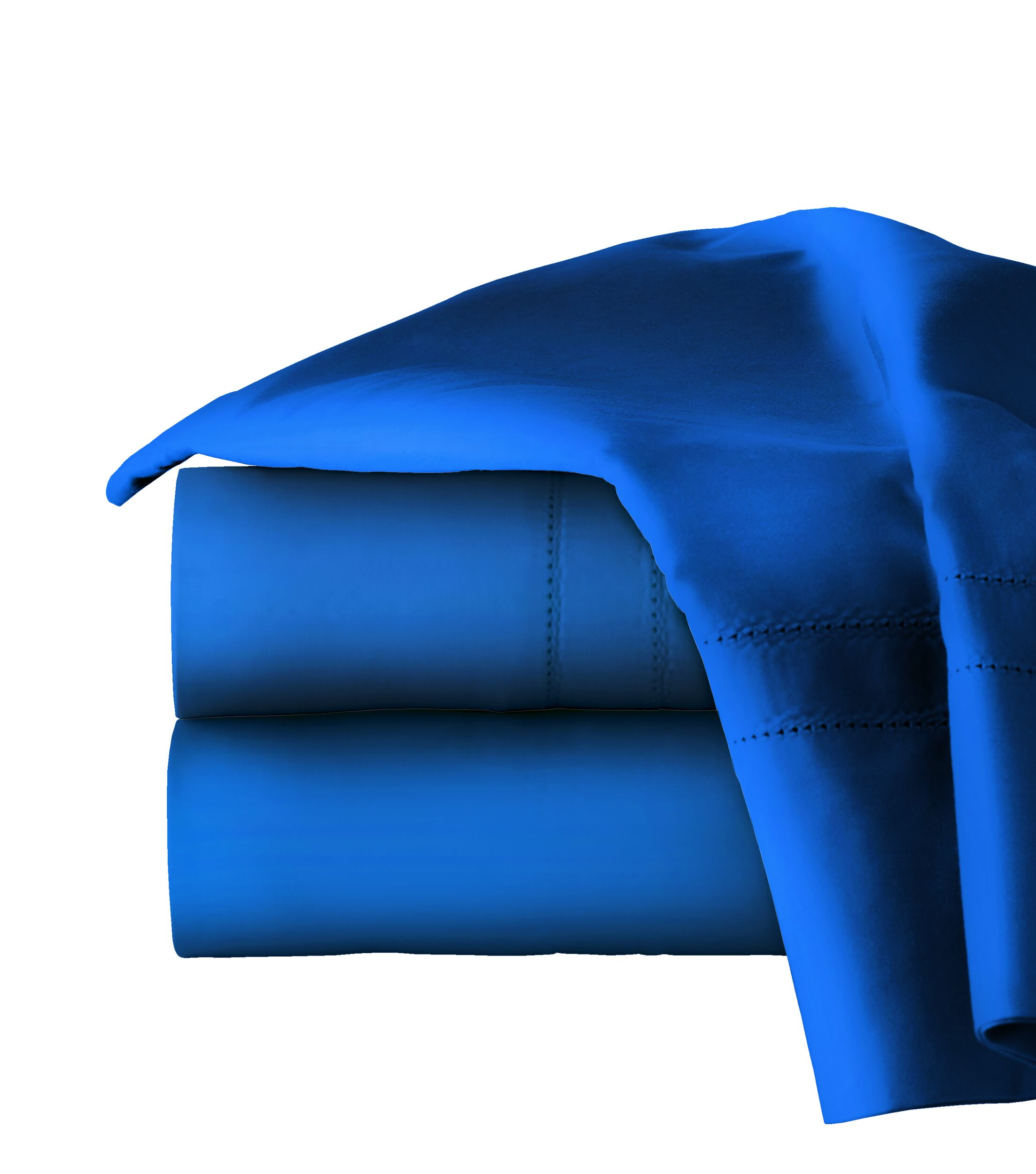 620 Thread Long Staple Count 100% Cotton Sheet Set Size: California King, Color: Classic Blue