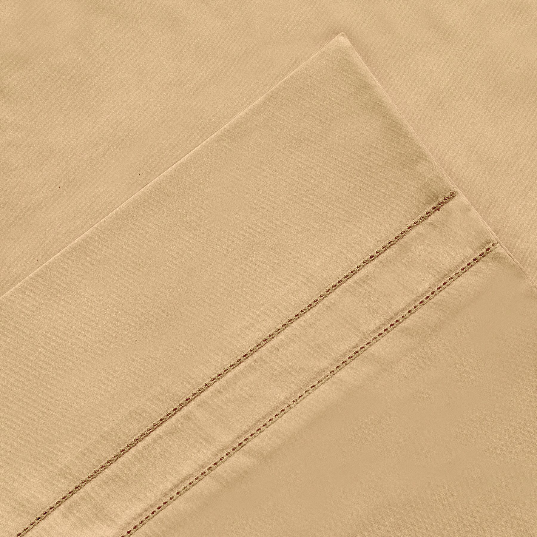 6 Piece 620 Thread Count 100% Long Staple Cotton Sheet Set Color: Iced Coffee, Size: California King