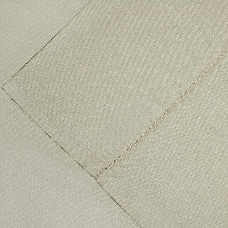 600 Thread Count Supima Cotton Sheet Set Size: Queen, Color: Linen