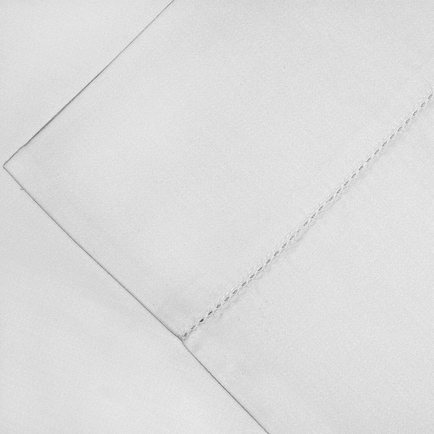 600 Thread Count Supima Cotton Sheet Set Color: White, Size: Queen