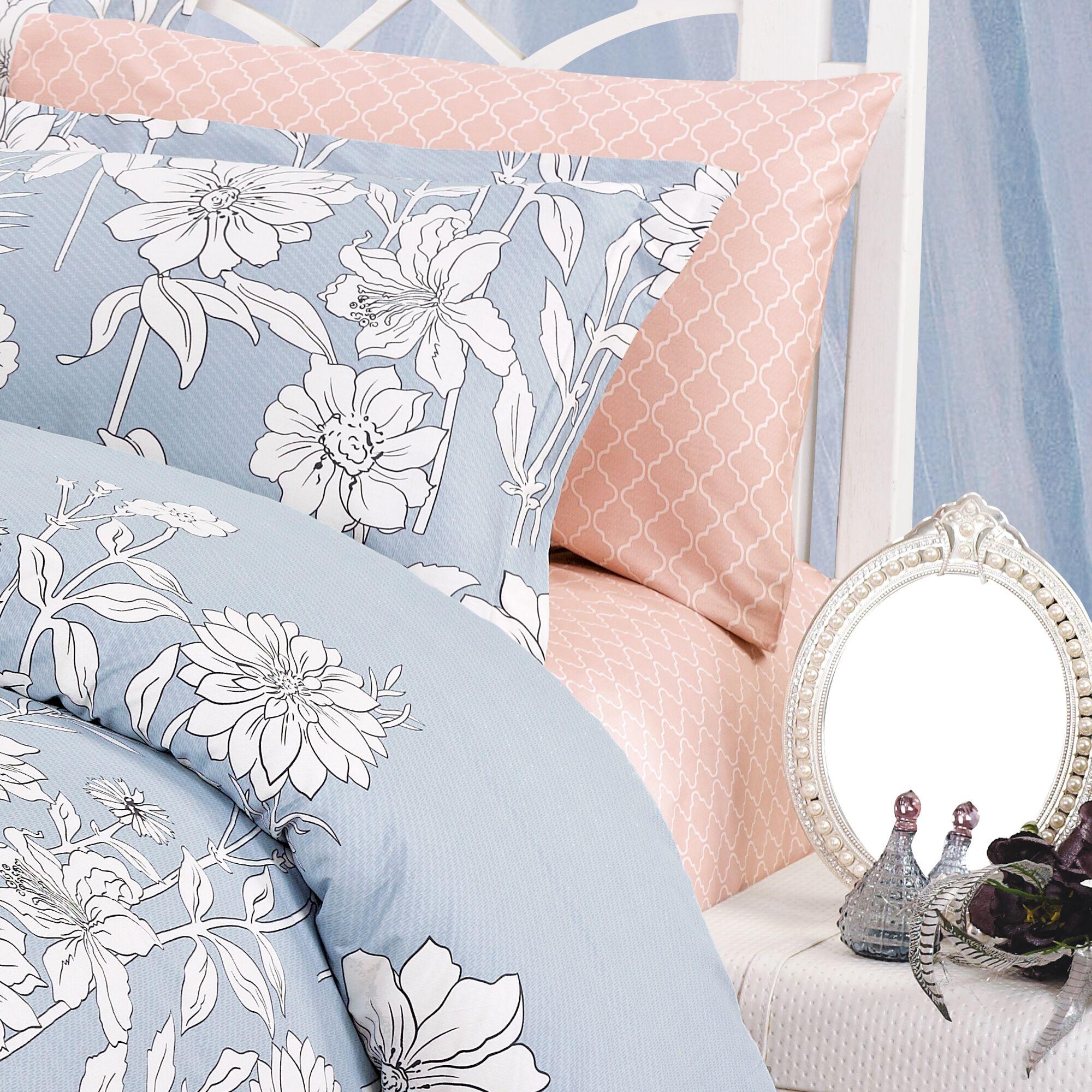 Blinda 220 Thread Count 100% Cotton Sheet Set Size: Twin