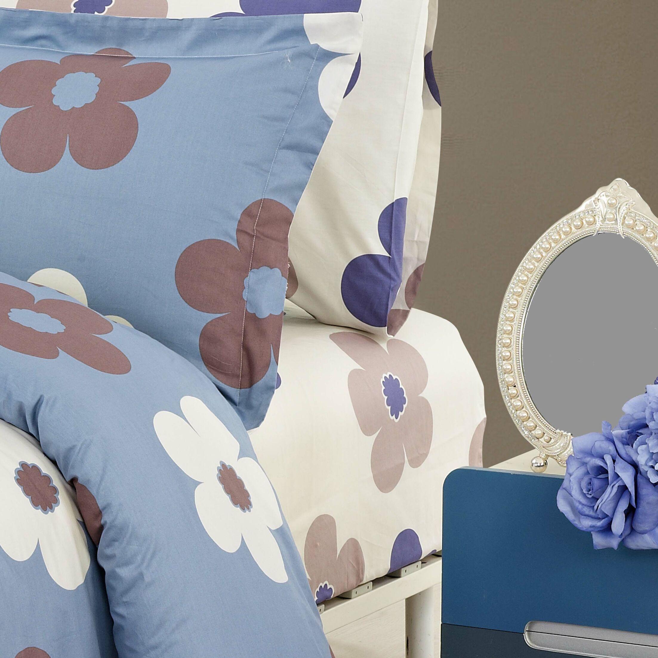 Isabelle 220 Thread Count 100% Cotton Sheet Set Size: Queen