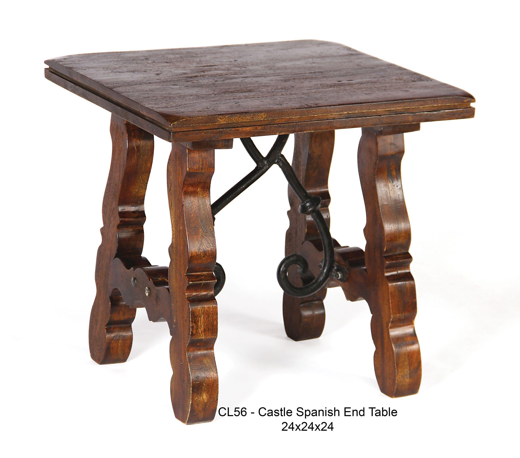 Castle End Table