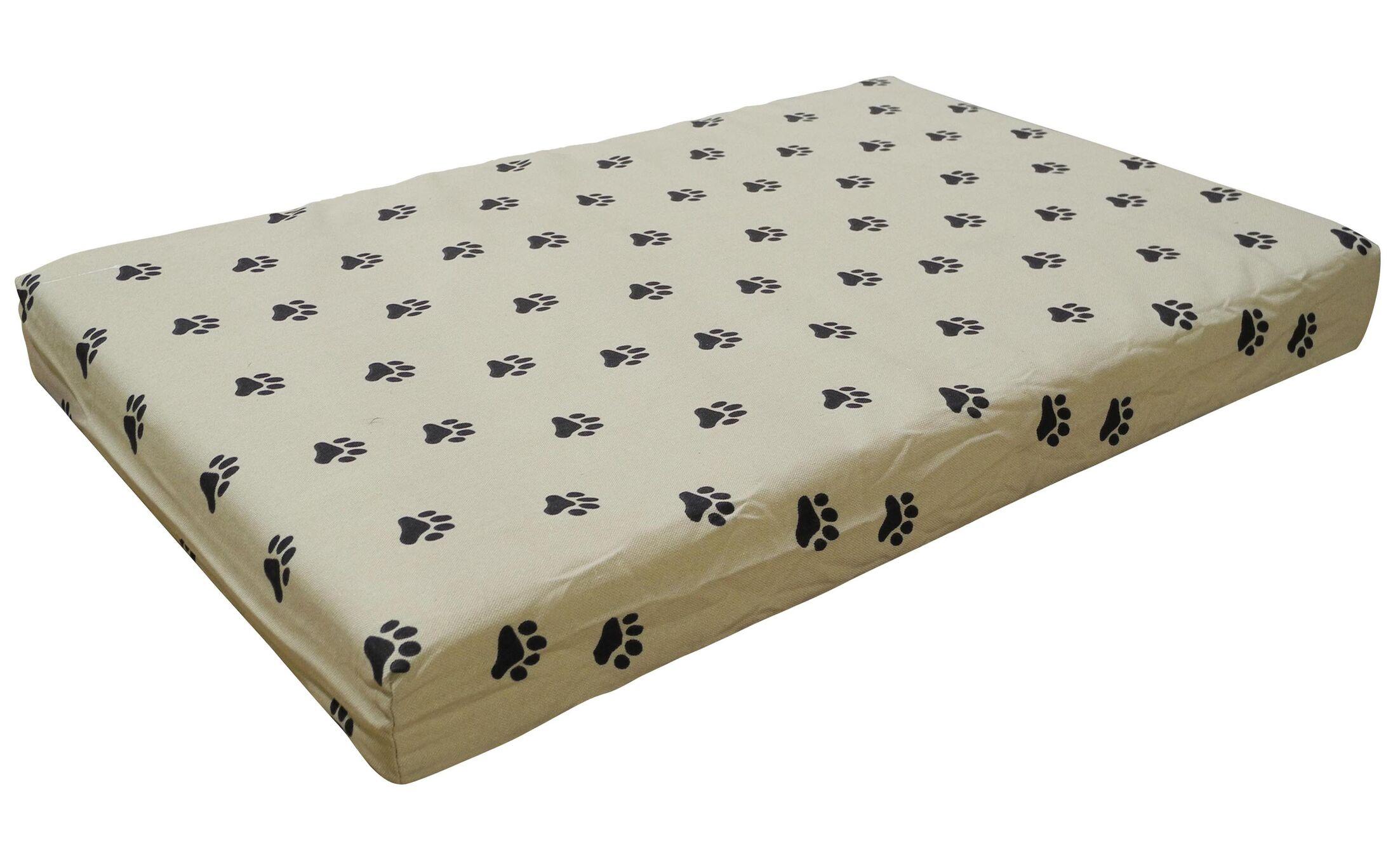 Memory Foam Orthopedic Pet Bed I Pillow/Classic Size: Medium - 40