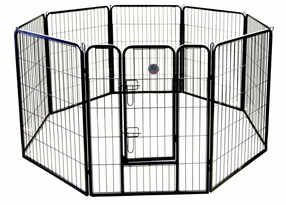 Heavy Duty Play and Exercise Pet Pen Size: 24