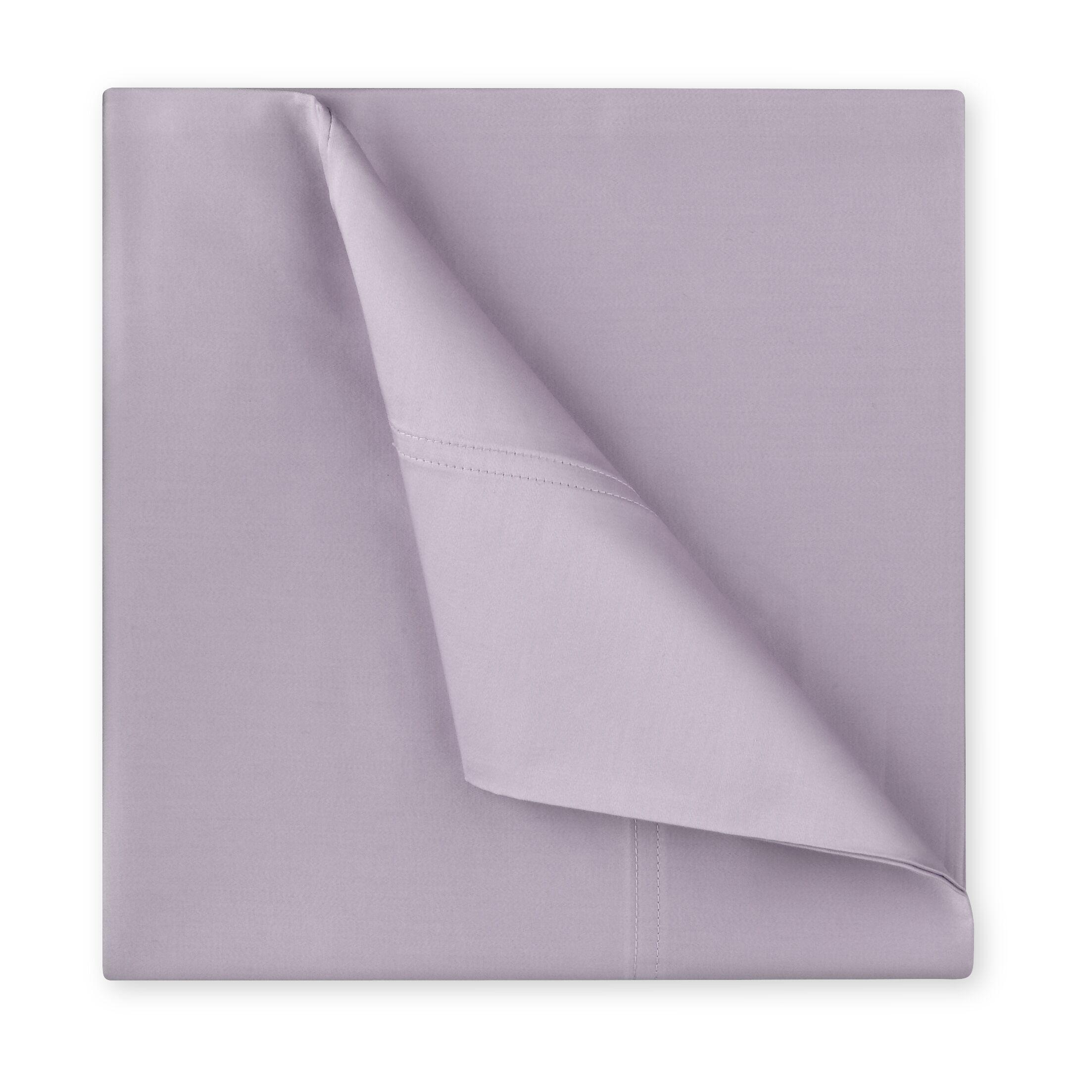 Williamsburg 400 Thread Count Cotton Sateen Sheet Set Color: Iris, Size: King
