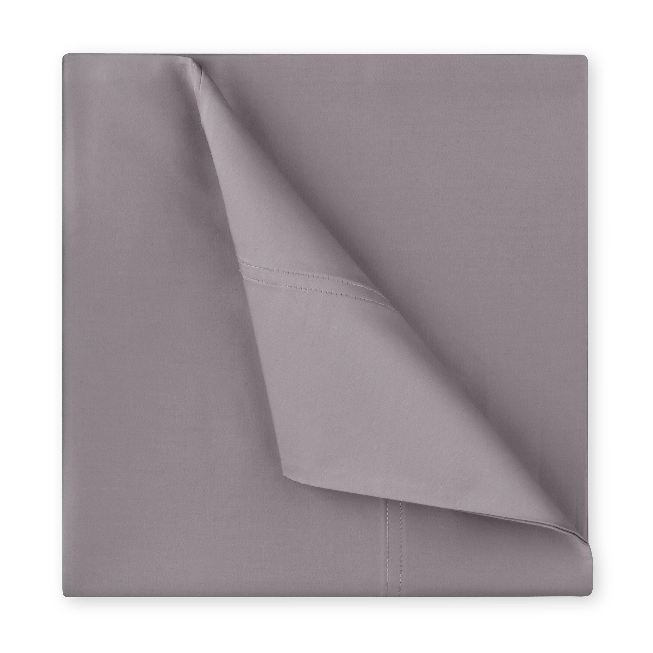 Williamsburg 400 Thread Count Cotton Sateen Sheet Set Color: Grey, Size: King