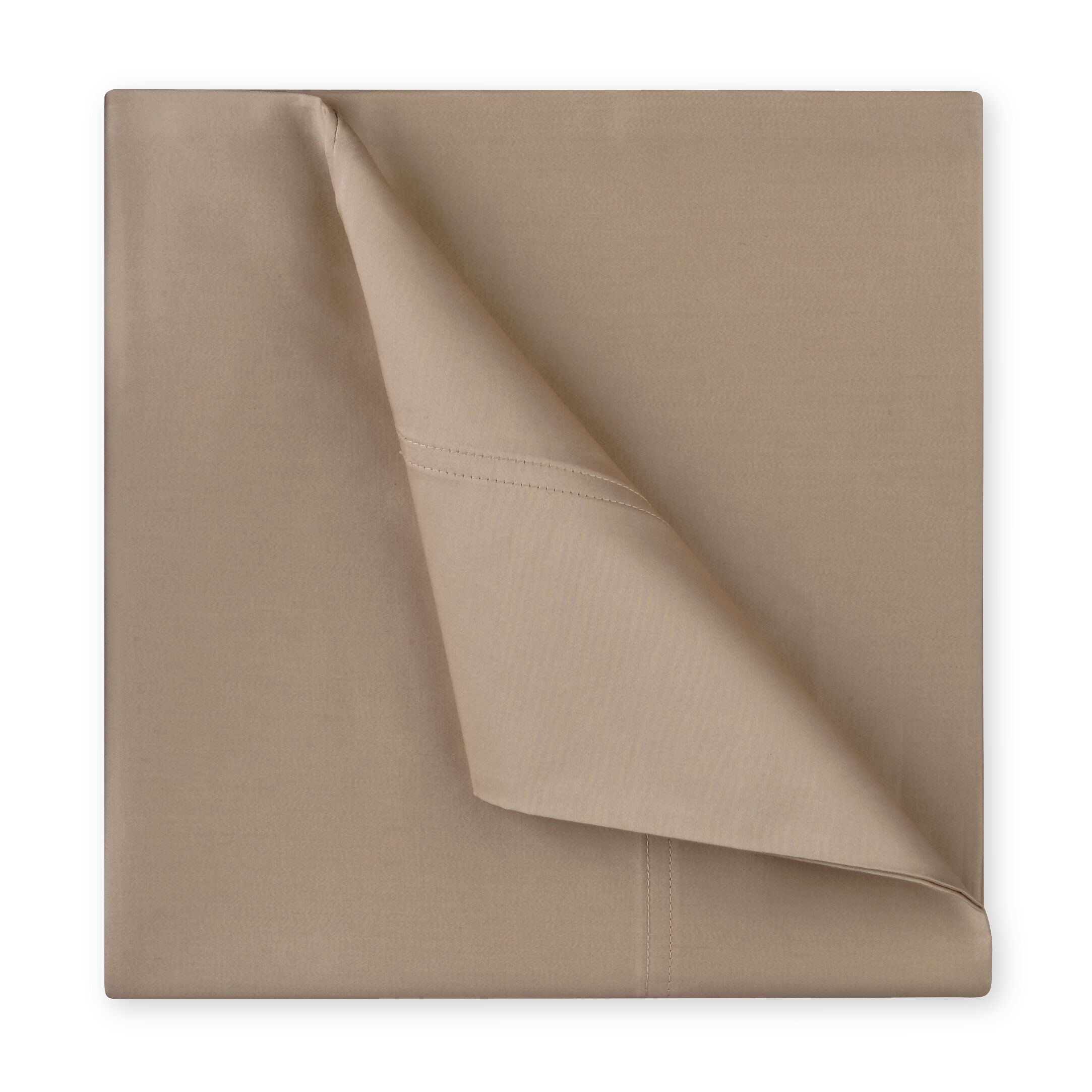 Williamsburg 400 Thread Count Cotton Sateen Sheet Set Color: Taupe, Size: Queen