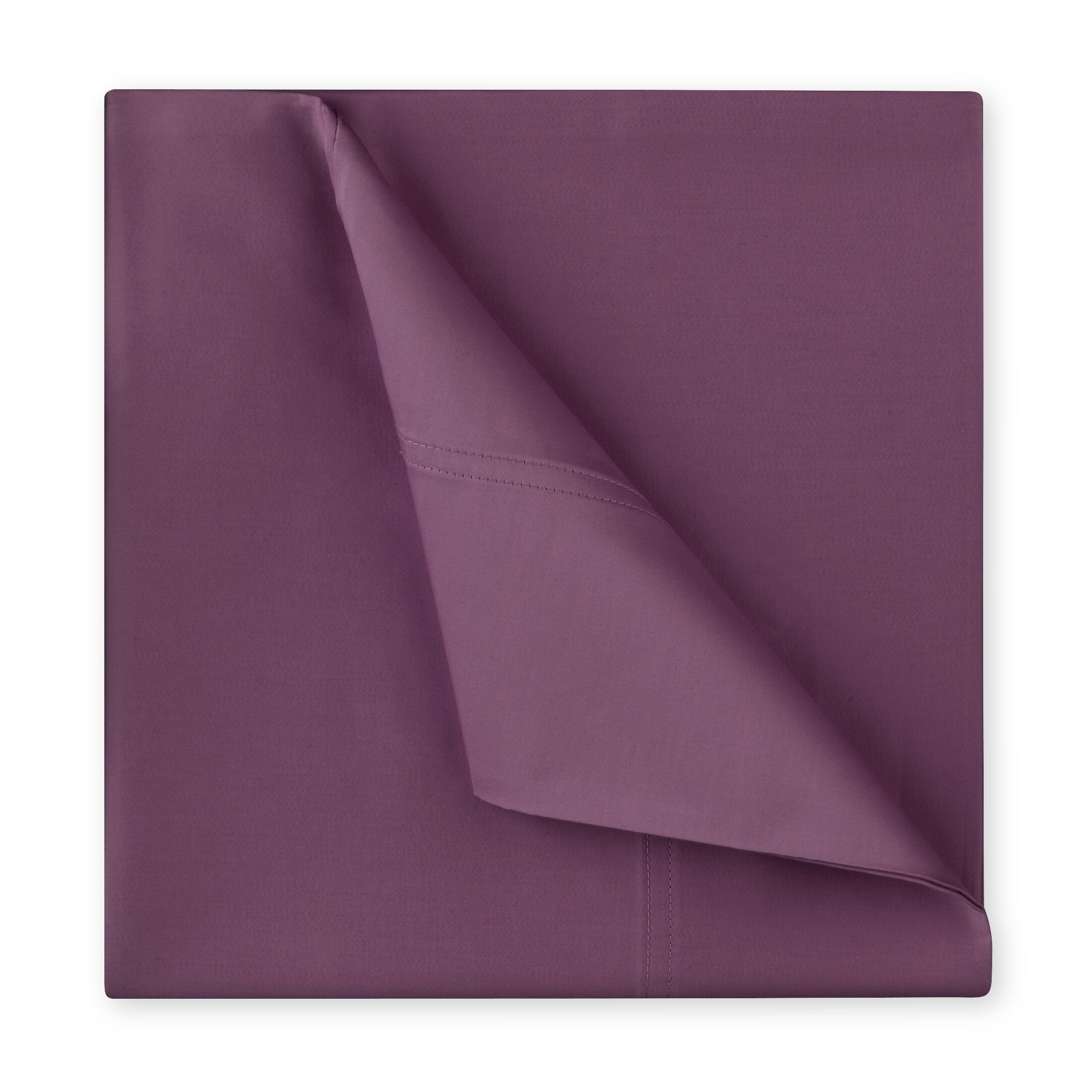 Williamsburg 400 Thread Count Cotton Sateen Sheet Set Color: Berry, Size: Full/Double
