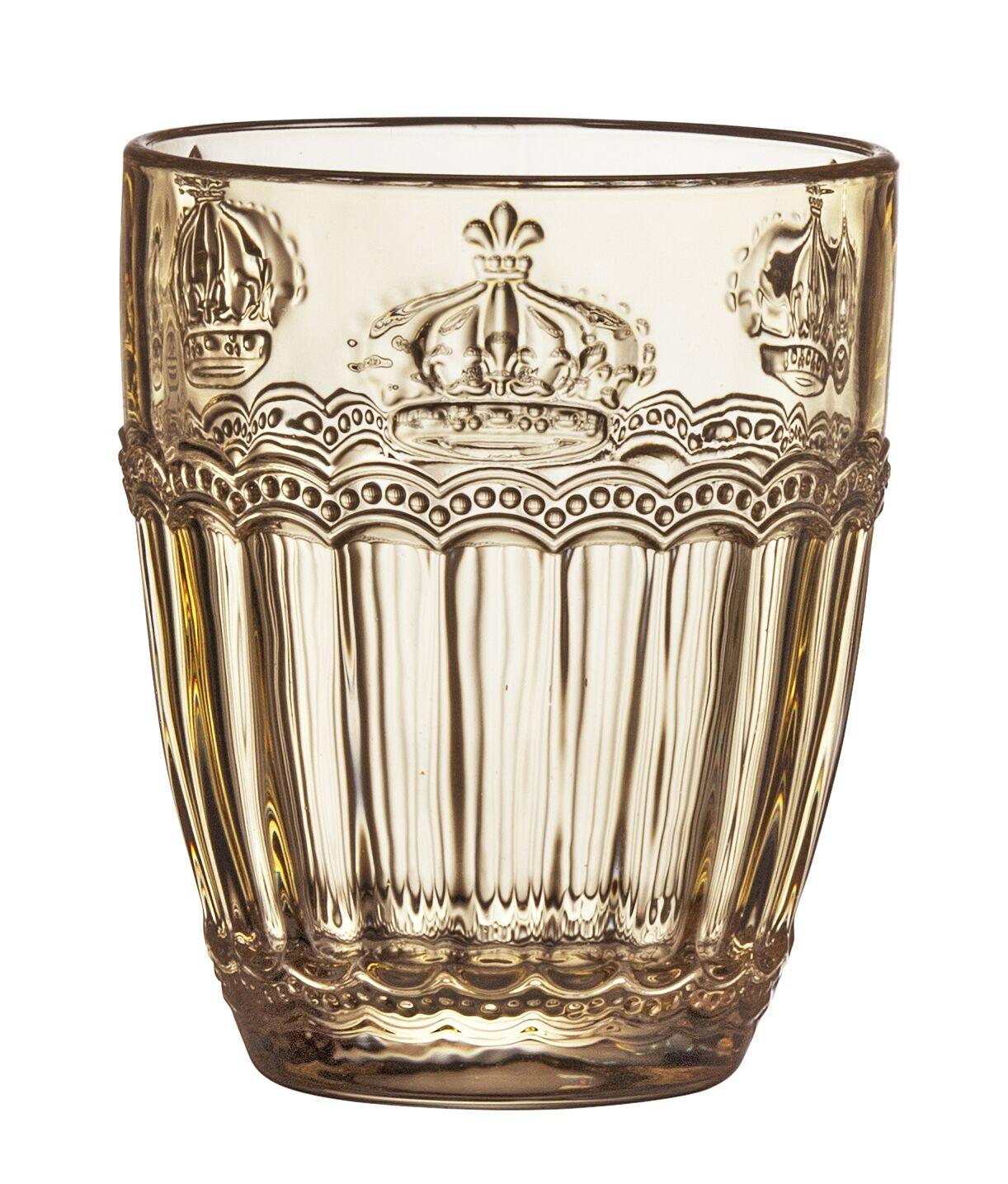 Victoria Crown Old Fashioned Glass