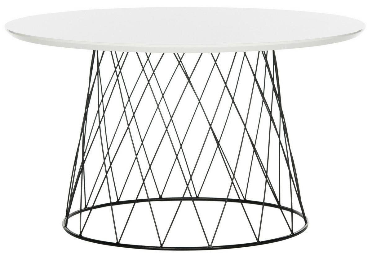 Brickey Coffee Table Color: White
