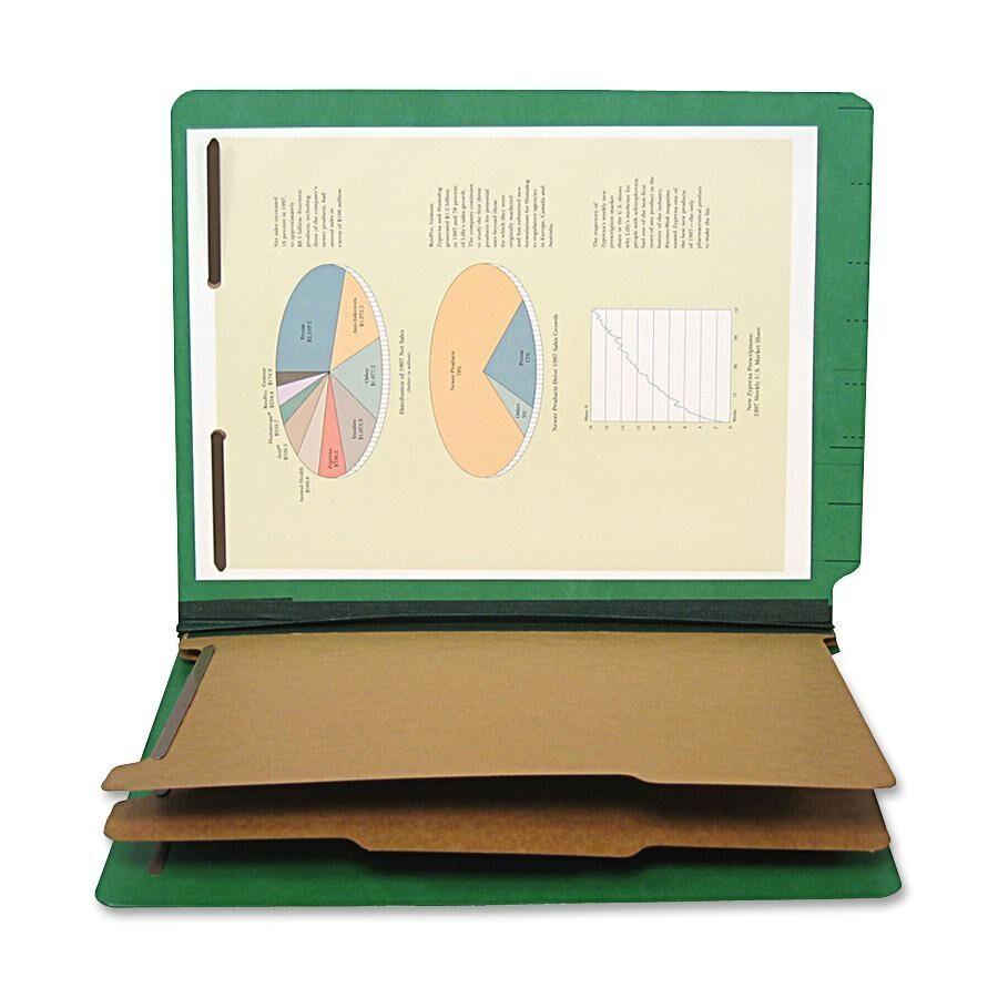 End Tab Classification Folder Color: Emerald Green