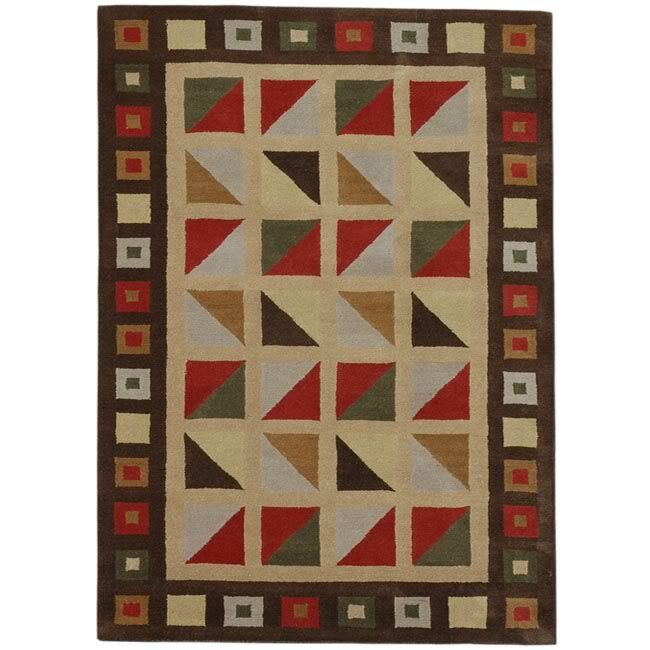 Esquire Check Area Rug Rug Size: 8' x 10'6