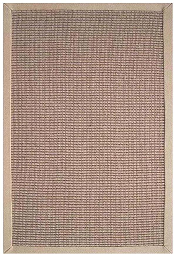 Sisal Natural/Beige Rug Rug Size: Rectangle 9' x 12'