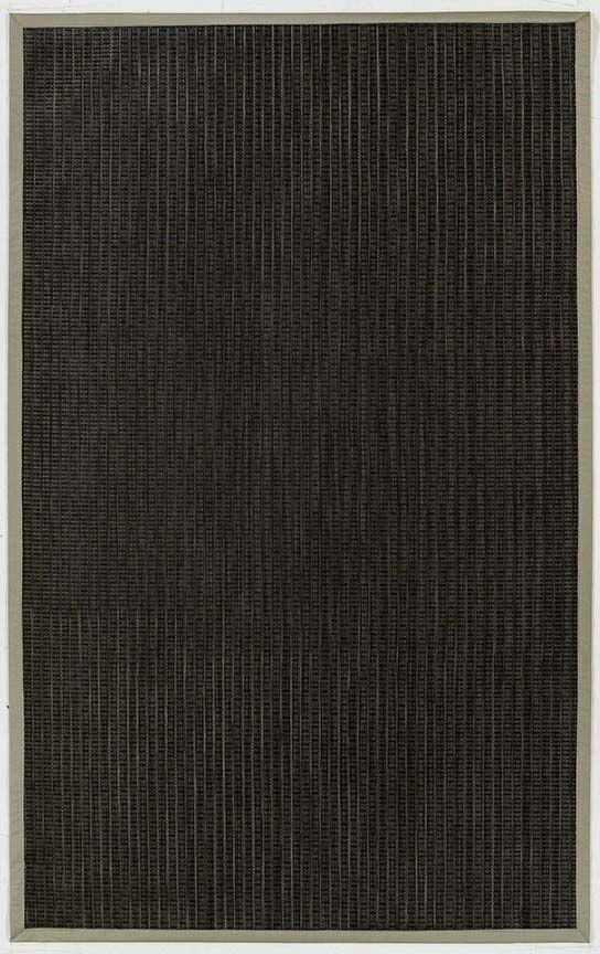 Black Indoor/Outdoor Area Rug Rug Size: 5' x 8'