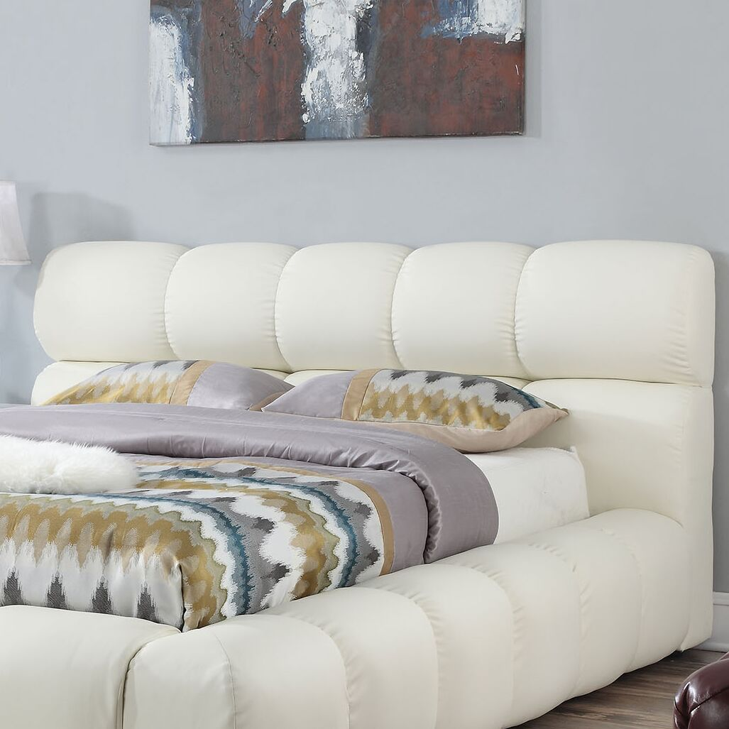 Felton Upholstered Panel Headboard Size: Eastern King