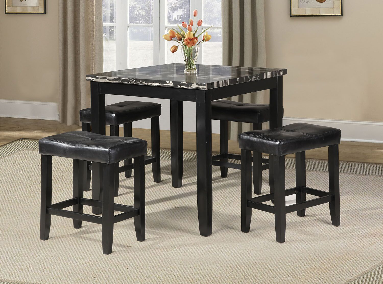 Dining Table Sets Rayle 5 Piece Counter Height Dining Set