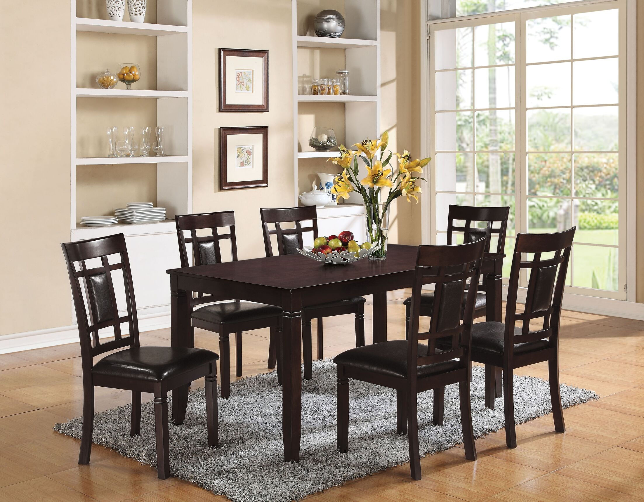 Dining Table Sets Remerton 7 Piece Dining Set