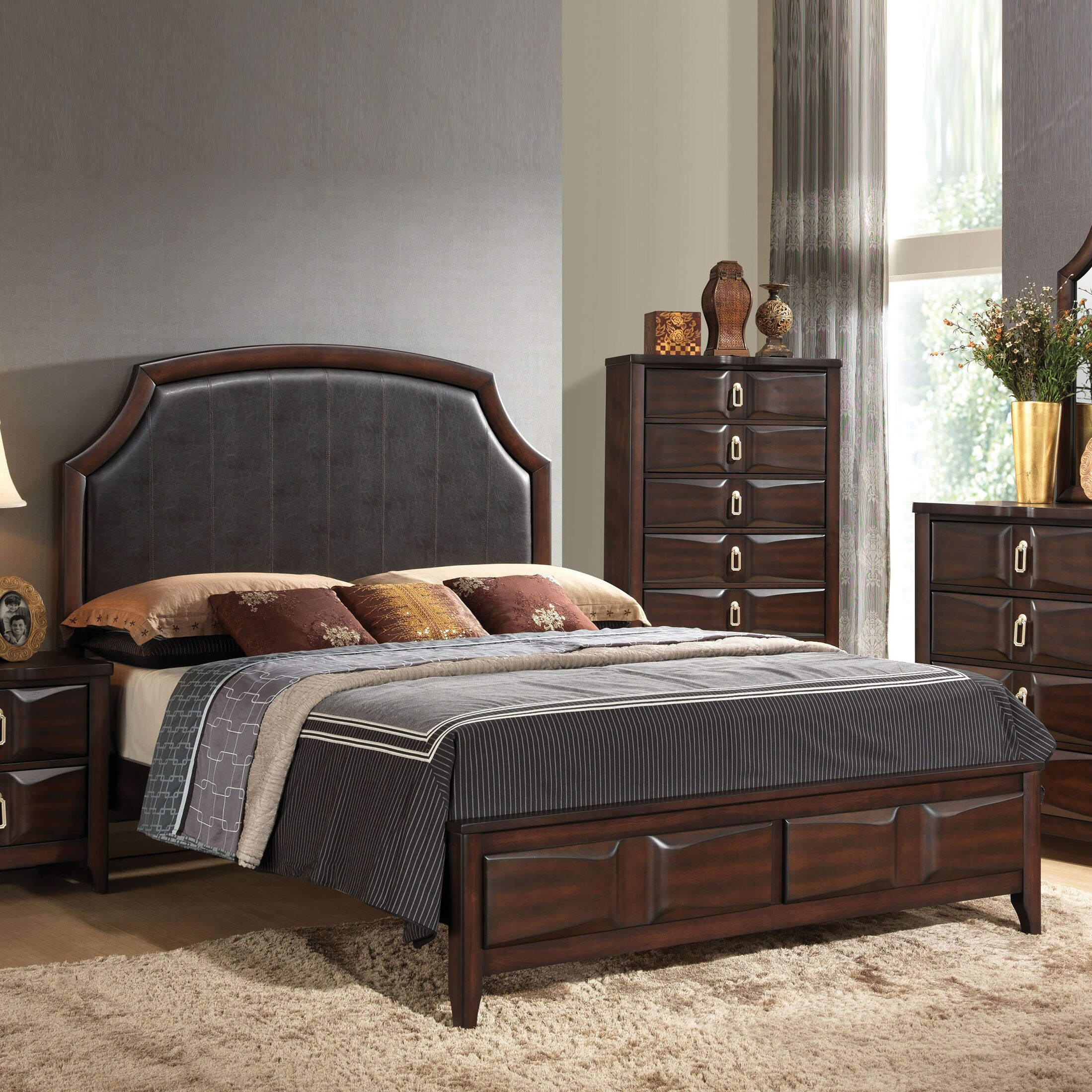 Taylor Cove Upholstered Panel Bed Size: Queen