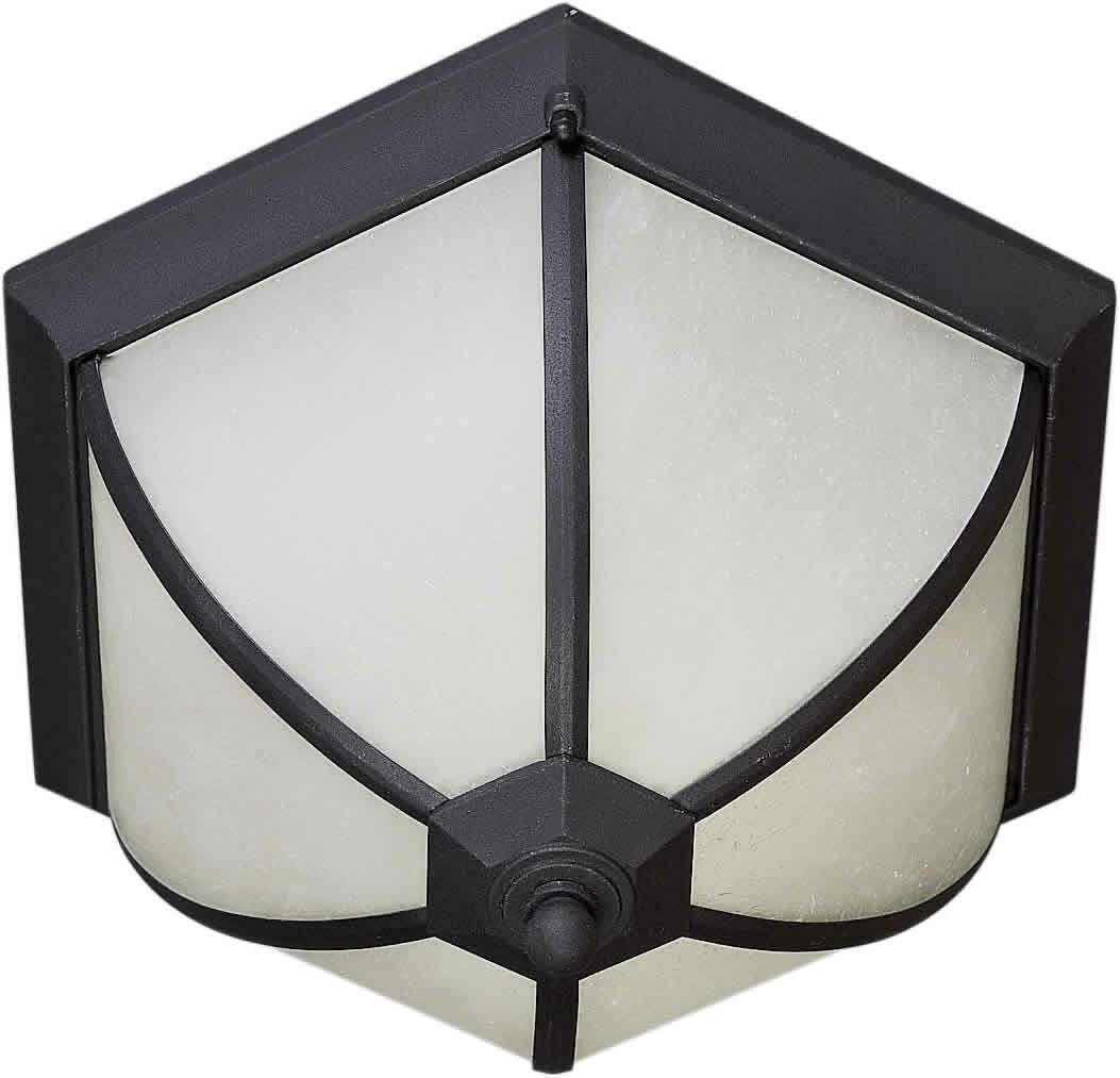Voorhies 2-Light Flush Mount Finish: Black