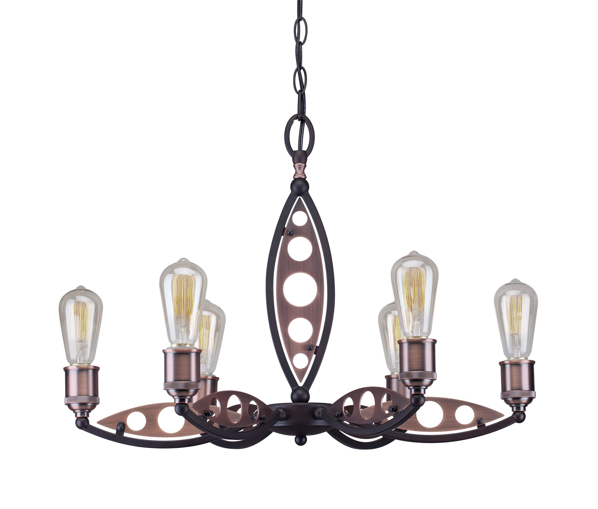 Glover 6-Light Candle Style Chandelier