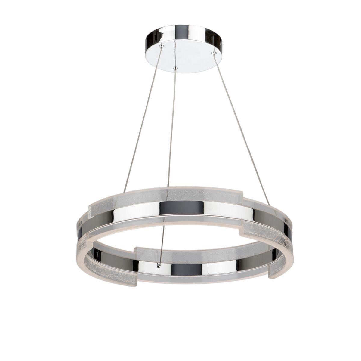 Saturn 1-Light Drum Pendant