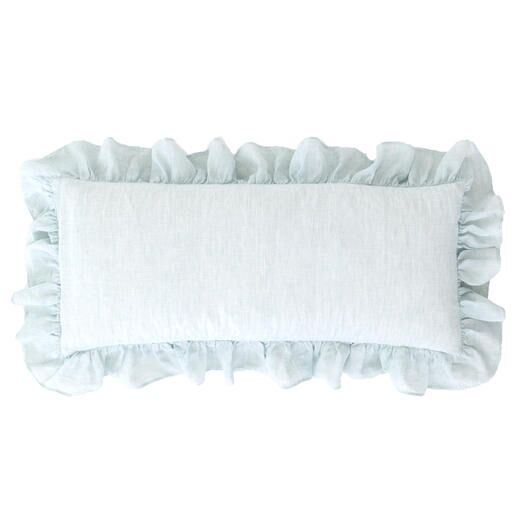 Savannah Linen Lumbar Pillow