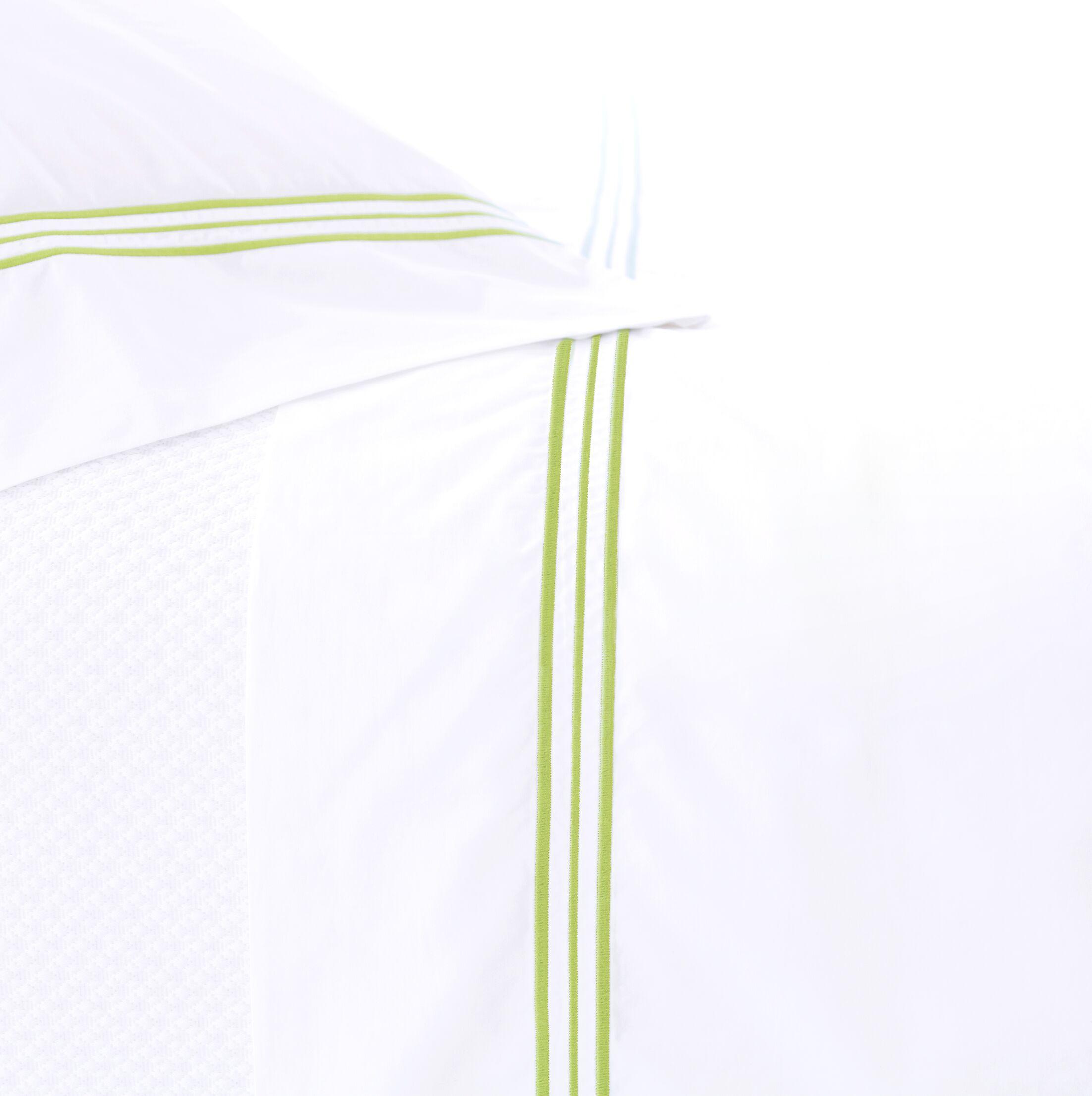 Trio 400 Thread Count 100% Cotton Flat Sheet Size: King