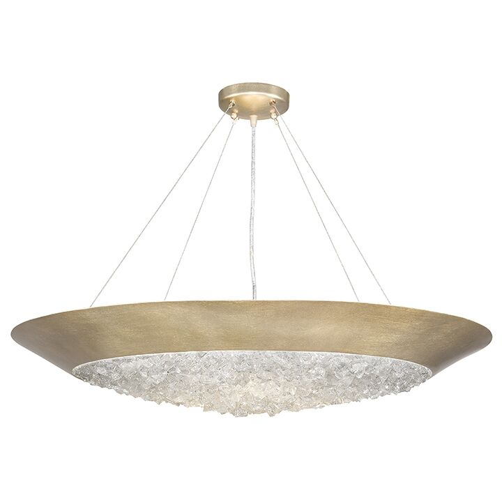 Arctic Halo 3-Light Bowl Pendant Finish: Champagne Gold