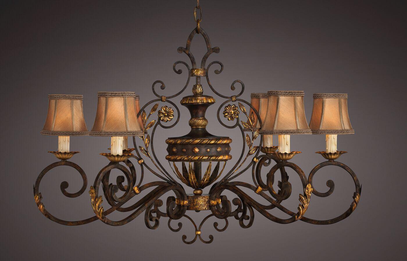 Castile 6-Light Shaded Chandelier