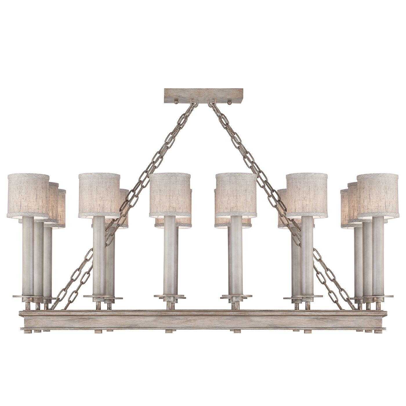 Cienfuegos 14-Light Kitchen Island Pendant Shade Included: No, Size: 16.5