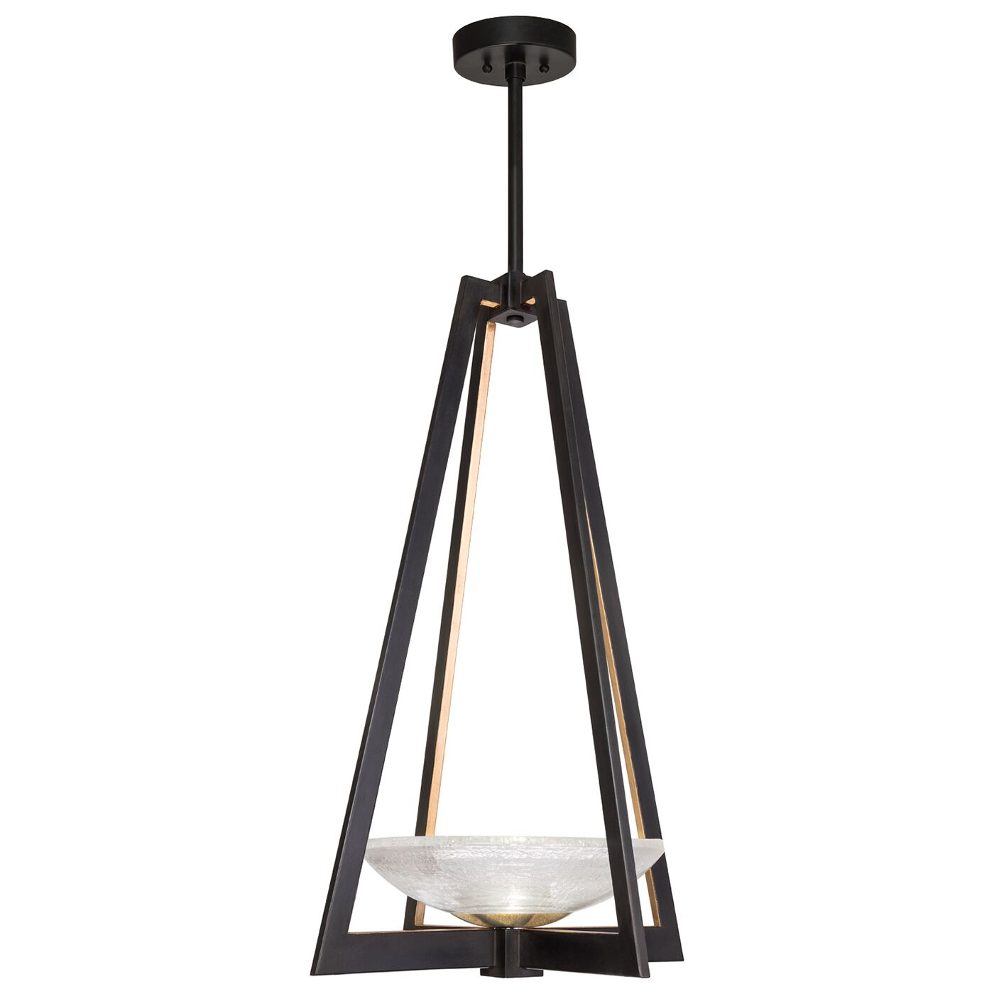 Delphi 2-Light Novelty Chandelier Finish: Black